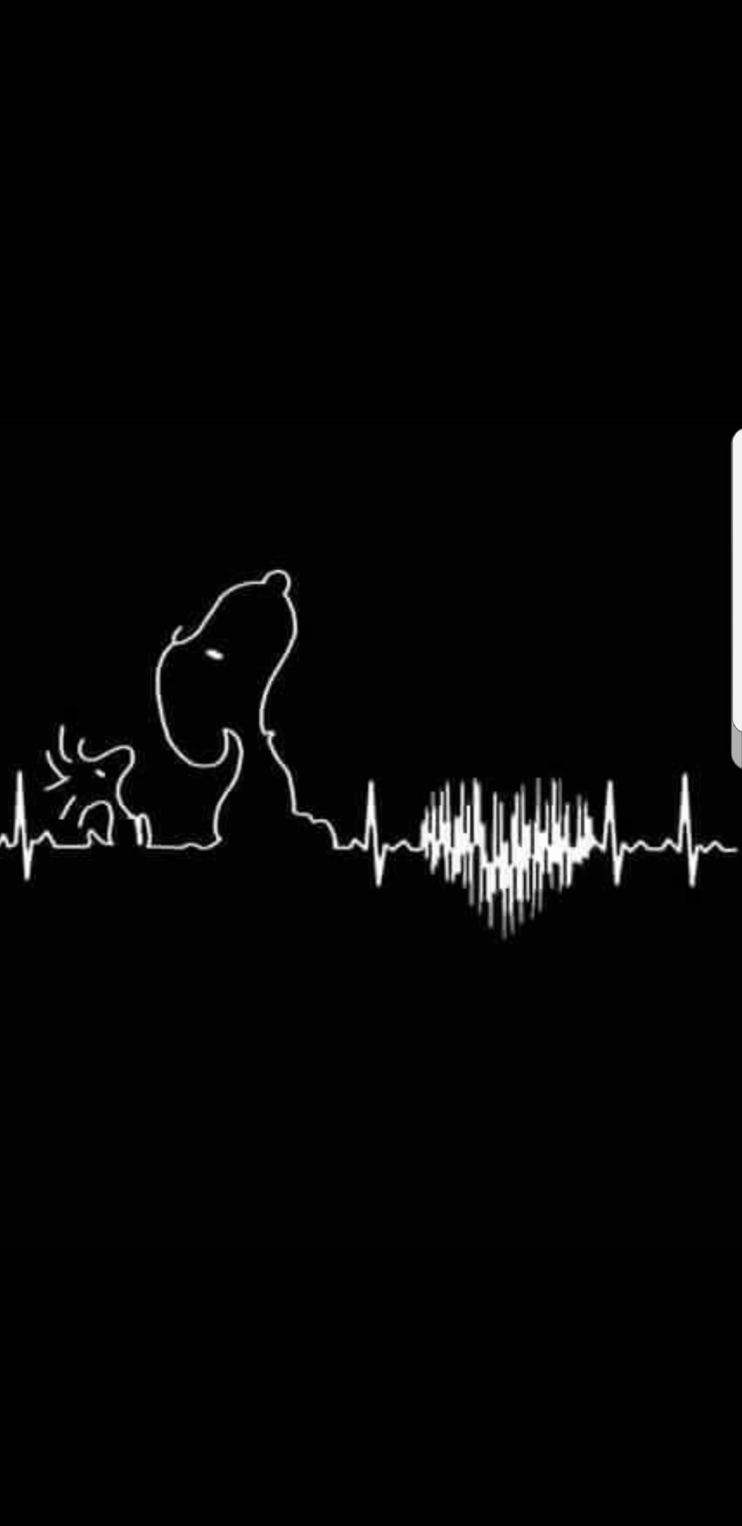 Res: 1080x2220, Snoopy and Woodstock heartbeat