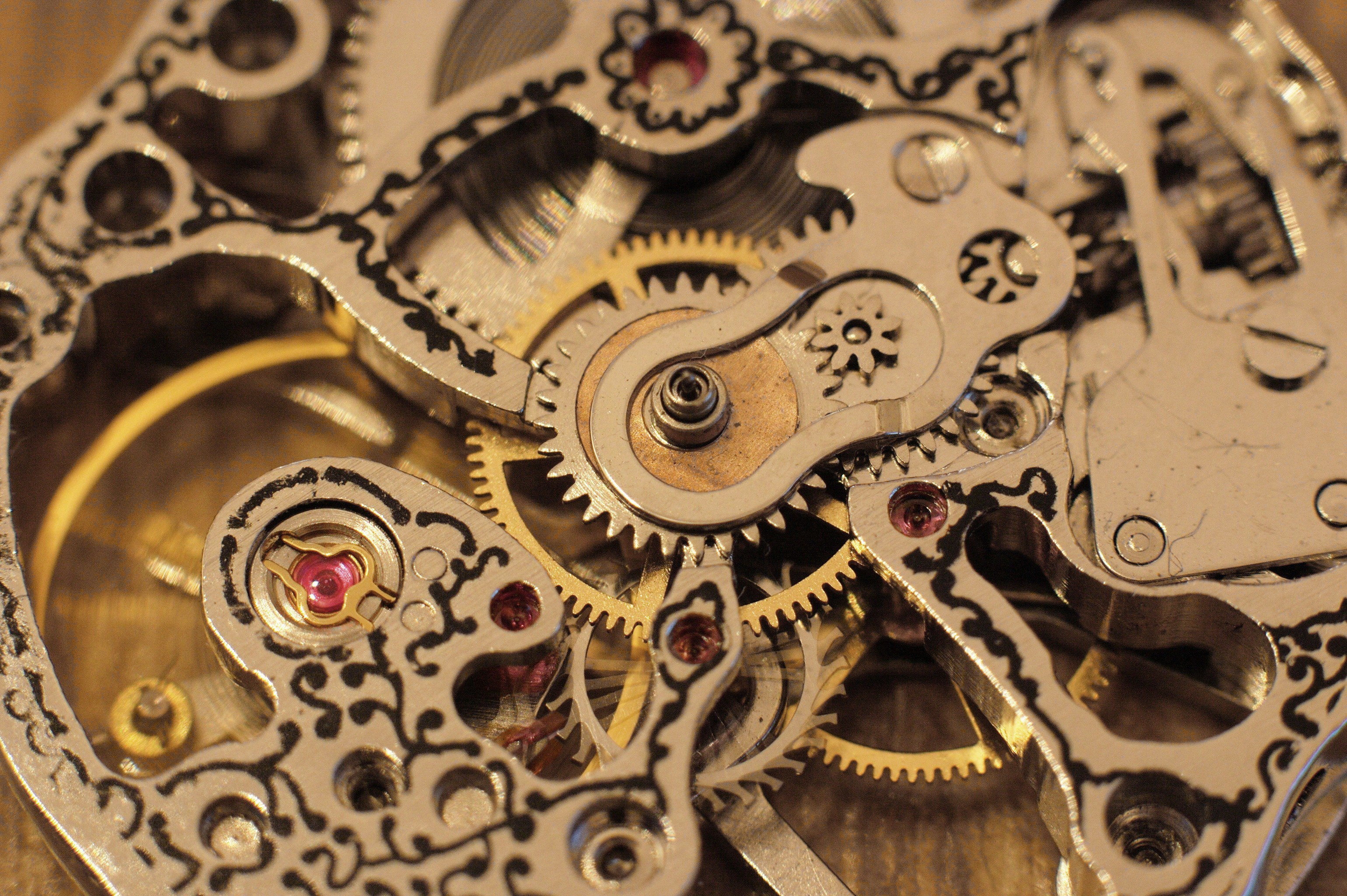 Res: 3080x2048, ... clock-gears-wallpapers-26 ...