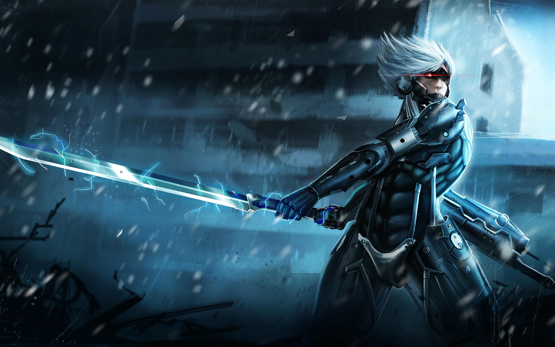 Res: 2880x1800, Metal Gear Rising Raiden Wallpaper