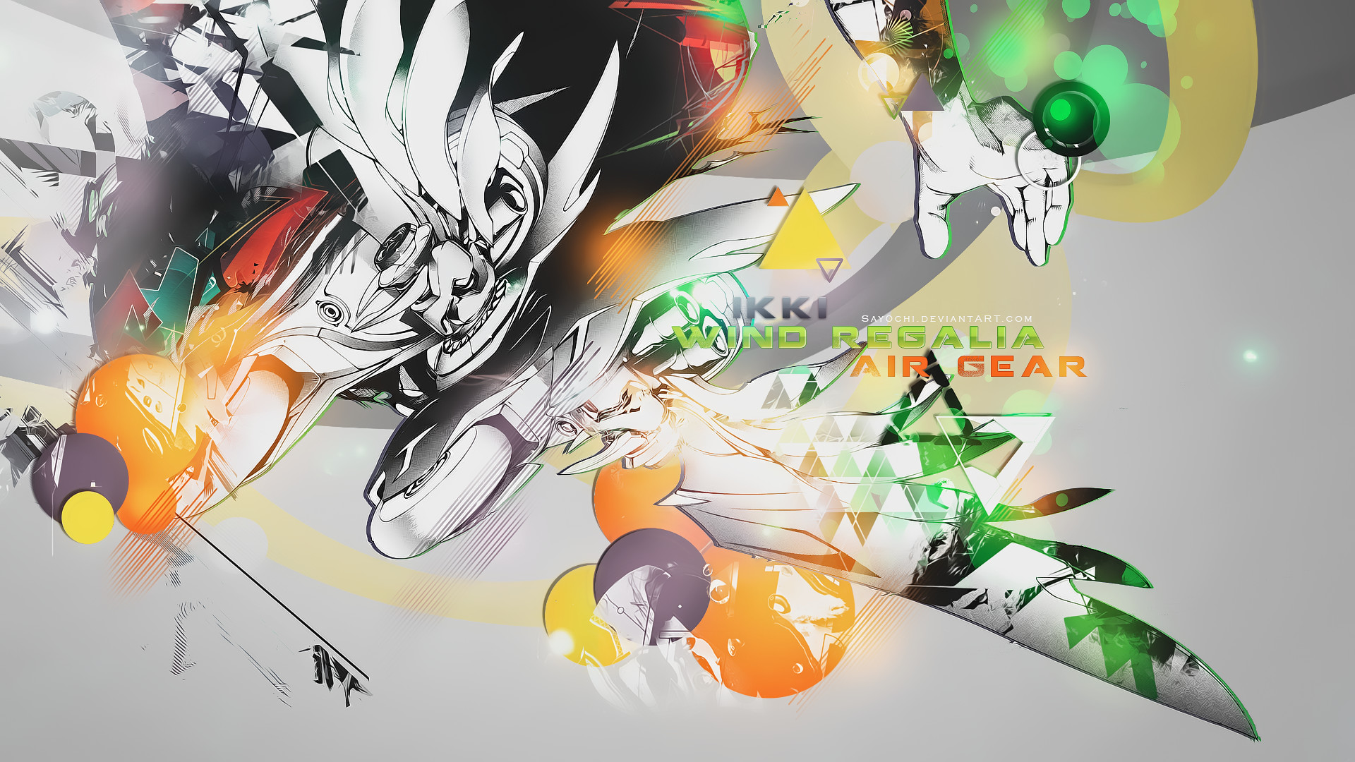 Res: 1920x1080, ... Air Gear Ikki - Wind Regalia Wallpaper [] by Say0chi