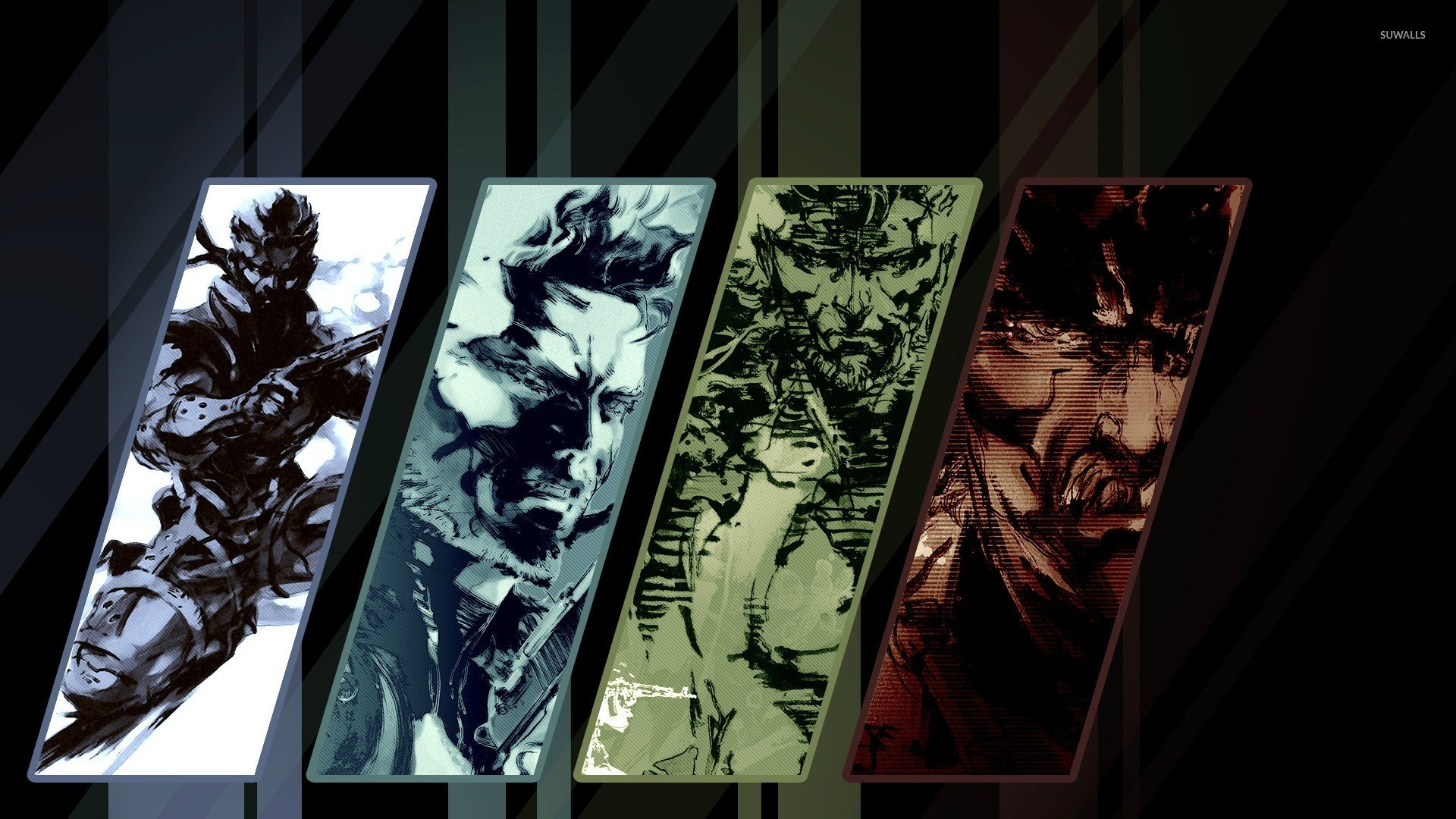 Res: 1920x1080, Metal Gear Solid 4: Guns of the Patriots wallpaper
