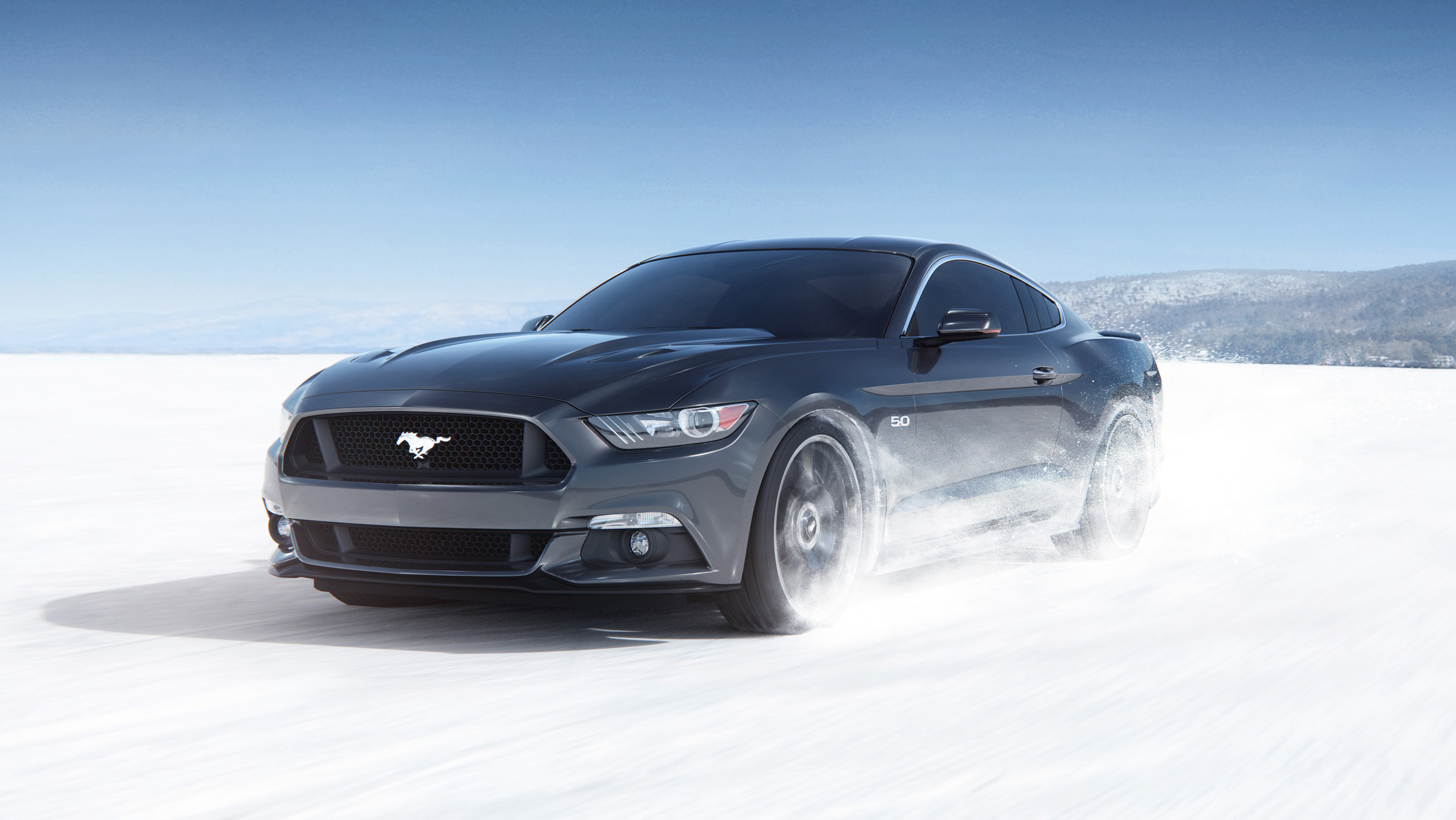 Res: 3000x1688, Ford Mustang 2018 4K