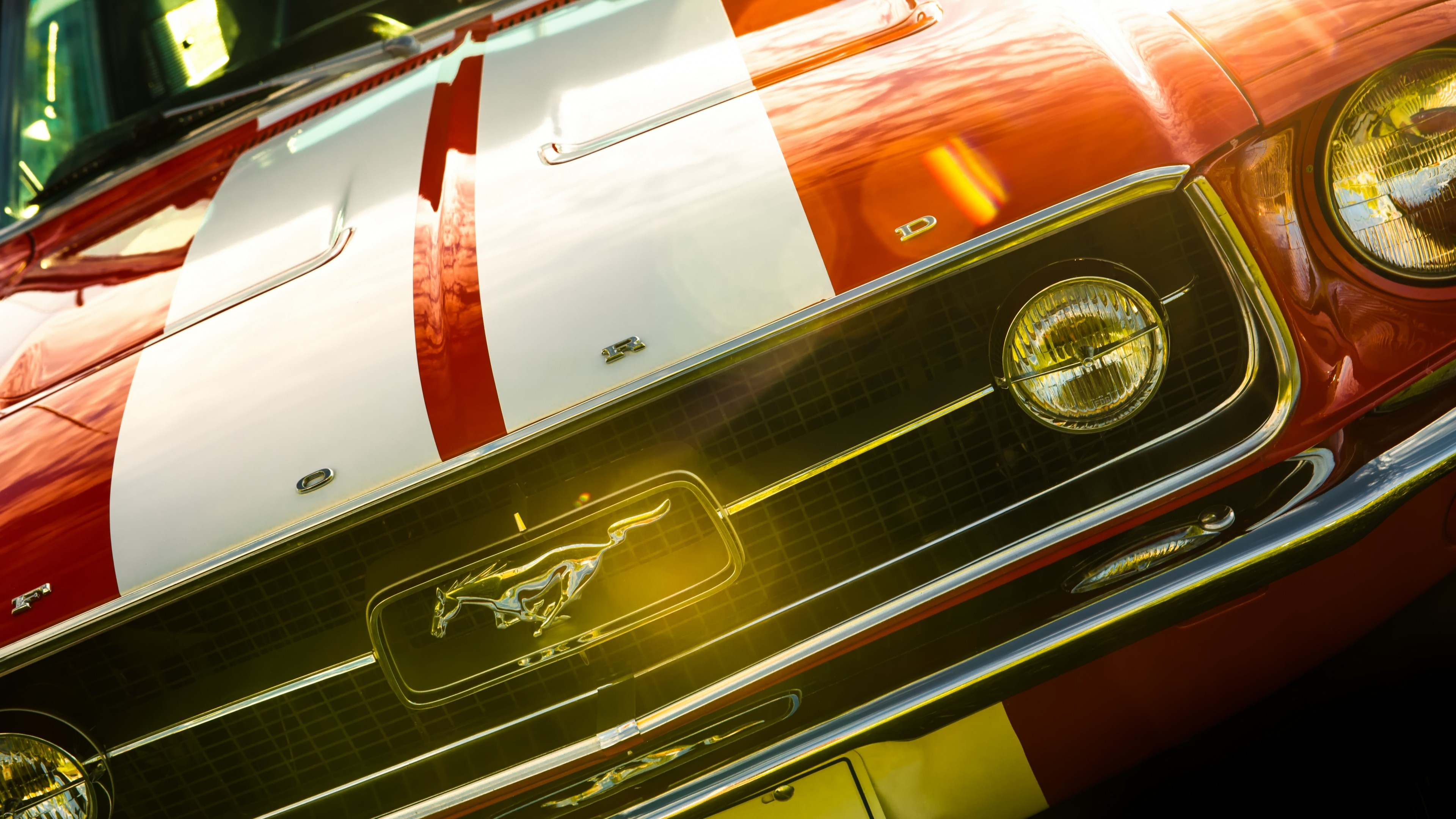 Res: 3840x2160, Tags: Ford Mustang