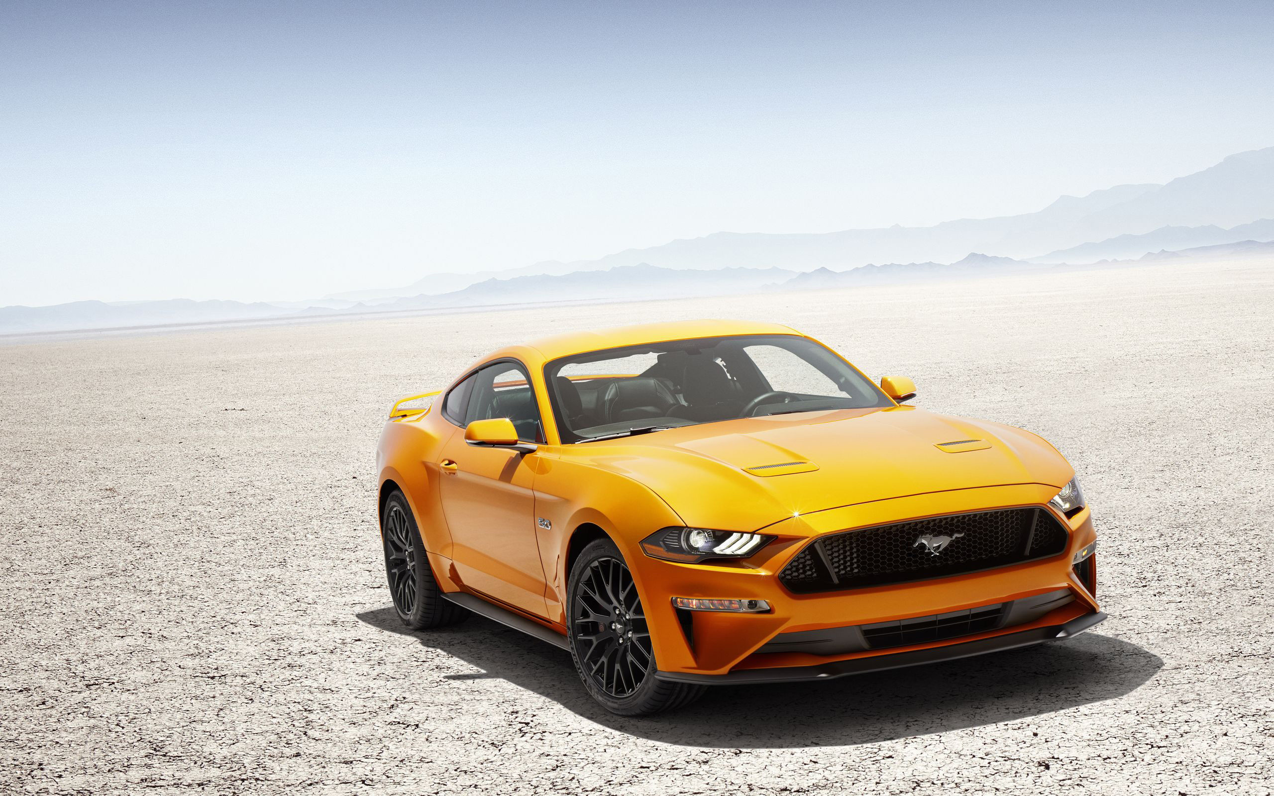 Res: 2560x1600, Ford Mustang V8 GT 2018