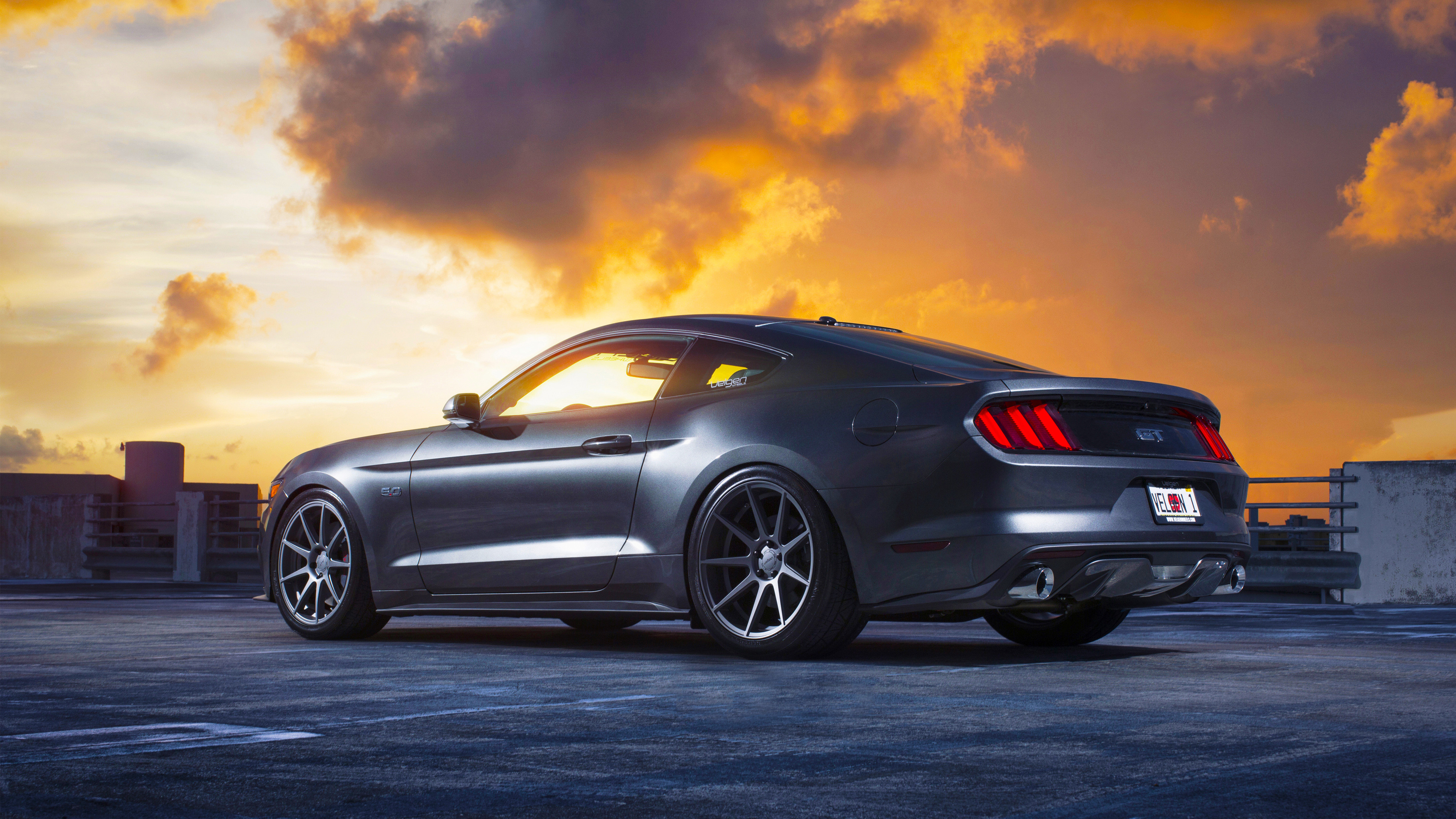 Res: 3840x2160, Tags: Ford Mustang ...