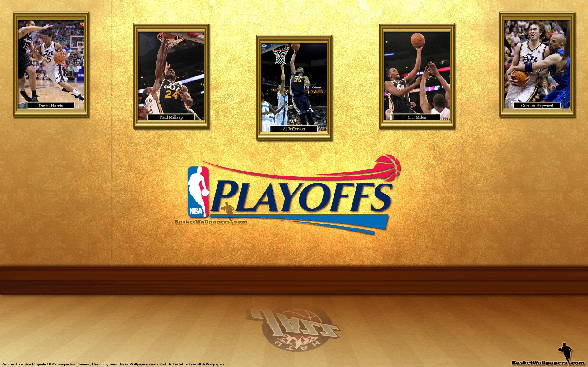 Res: 1920x1200, Utah Jazz See You In Playoffs 2012 Wallpaper