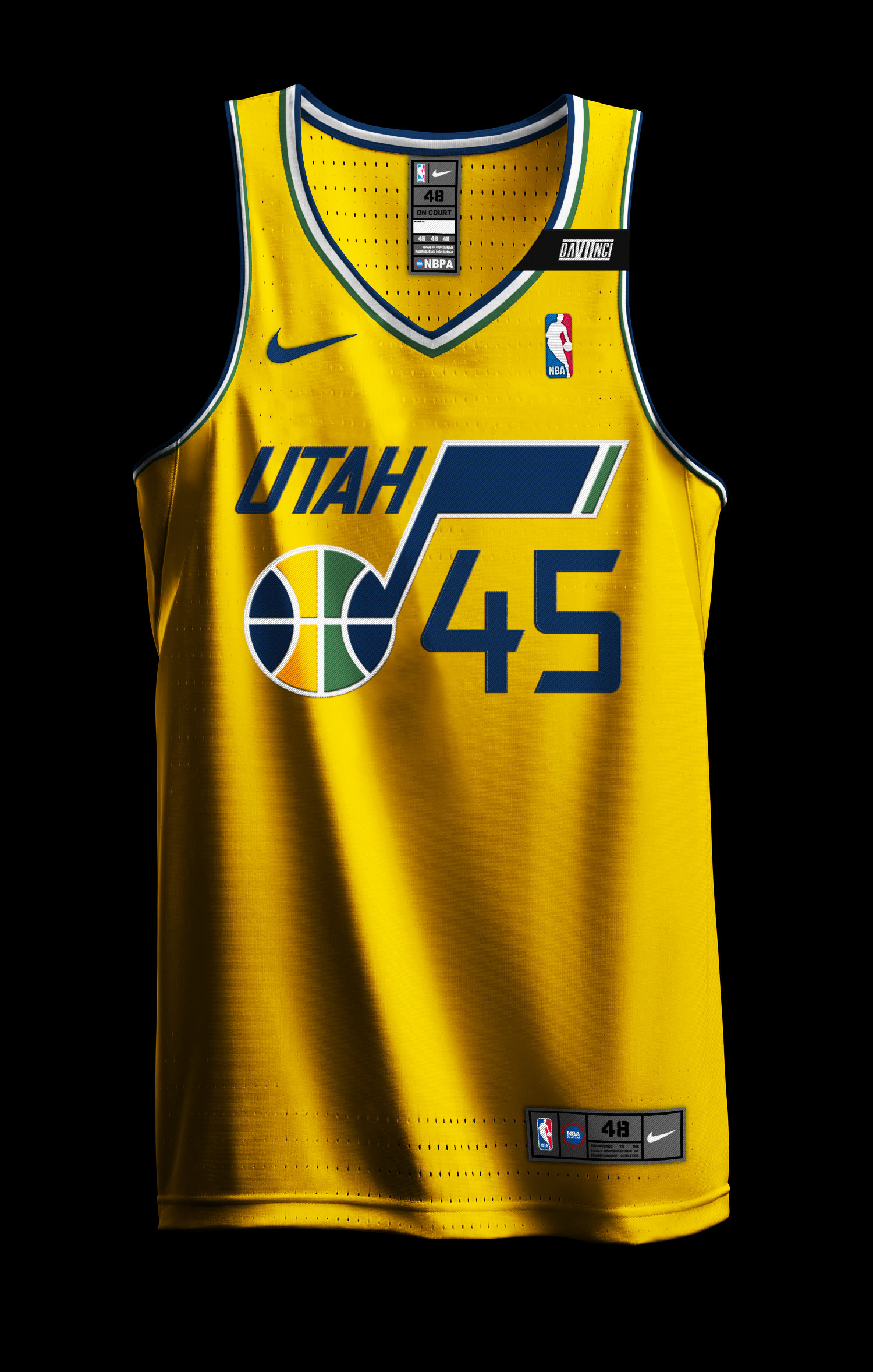 Res: 1500x2356, ... Hoopladawg87s Content - Chris Creamers Sports Logos Communit Mens Utah  Jazz Derrick Favors adidas ...