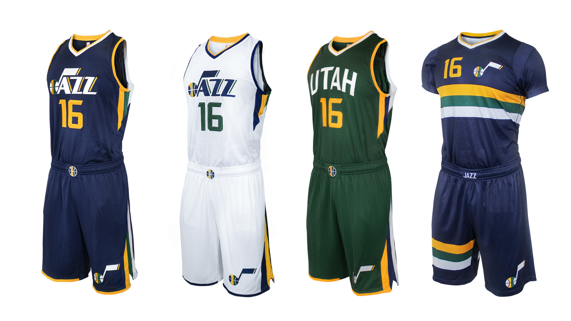 Res: 1920x1080, Utah Jazz reveals some new with hint of old in refresh to uniforms, logo |  NBA | Sporting News