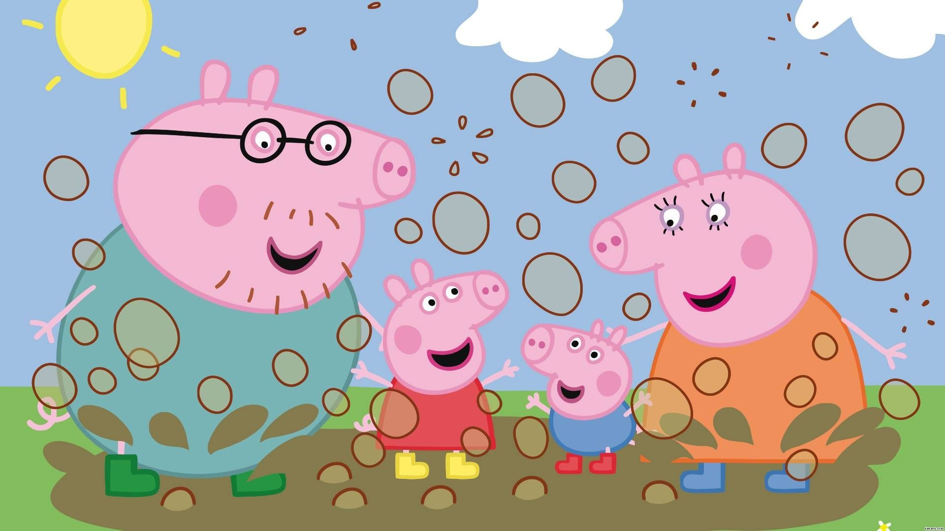 Peppa Pig Wallpapers Hd Wallpaper Collections