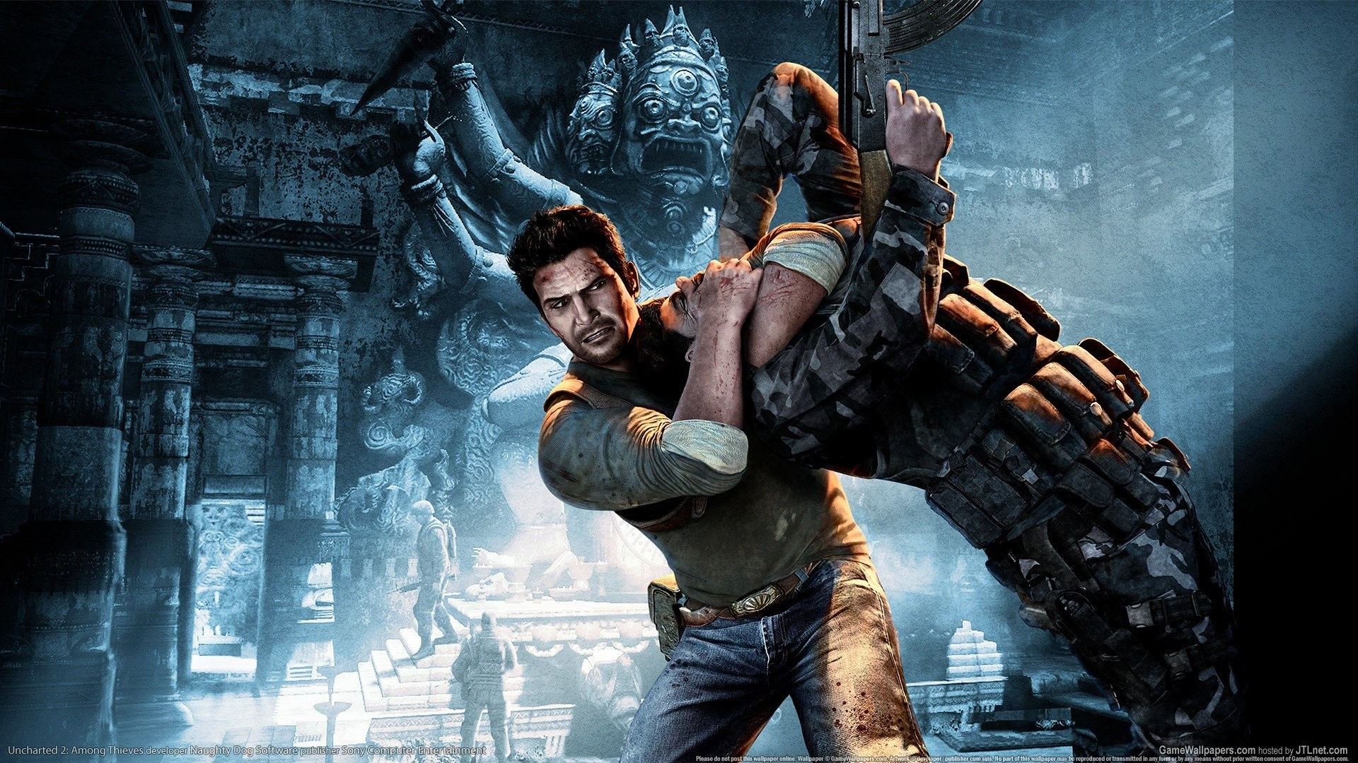 Res: 1920x1080, Video games Uncharted Nathan Drake Uncharted 2 wallpaper |  |  263925 | WallpaperUP