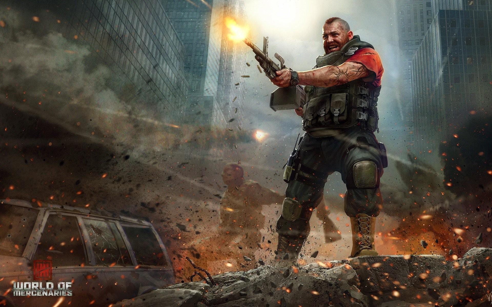Res: 1920x1200, gamers, Gunz, War, Gun, Combat, Bulletproof vest