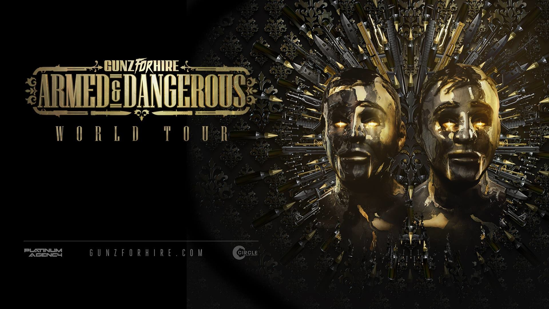 Res: 1920x1080, project hardstyle GUNZ for HIRE Armed & Dangerous Tour-Project Hardstyle