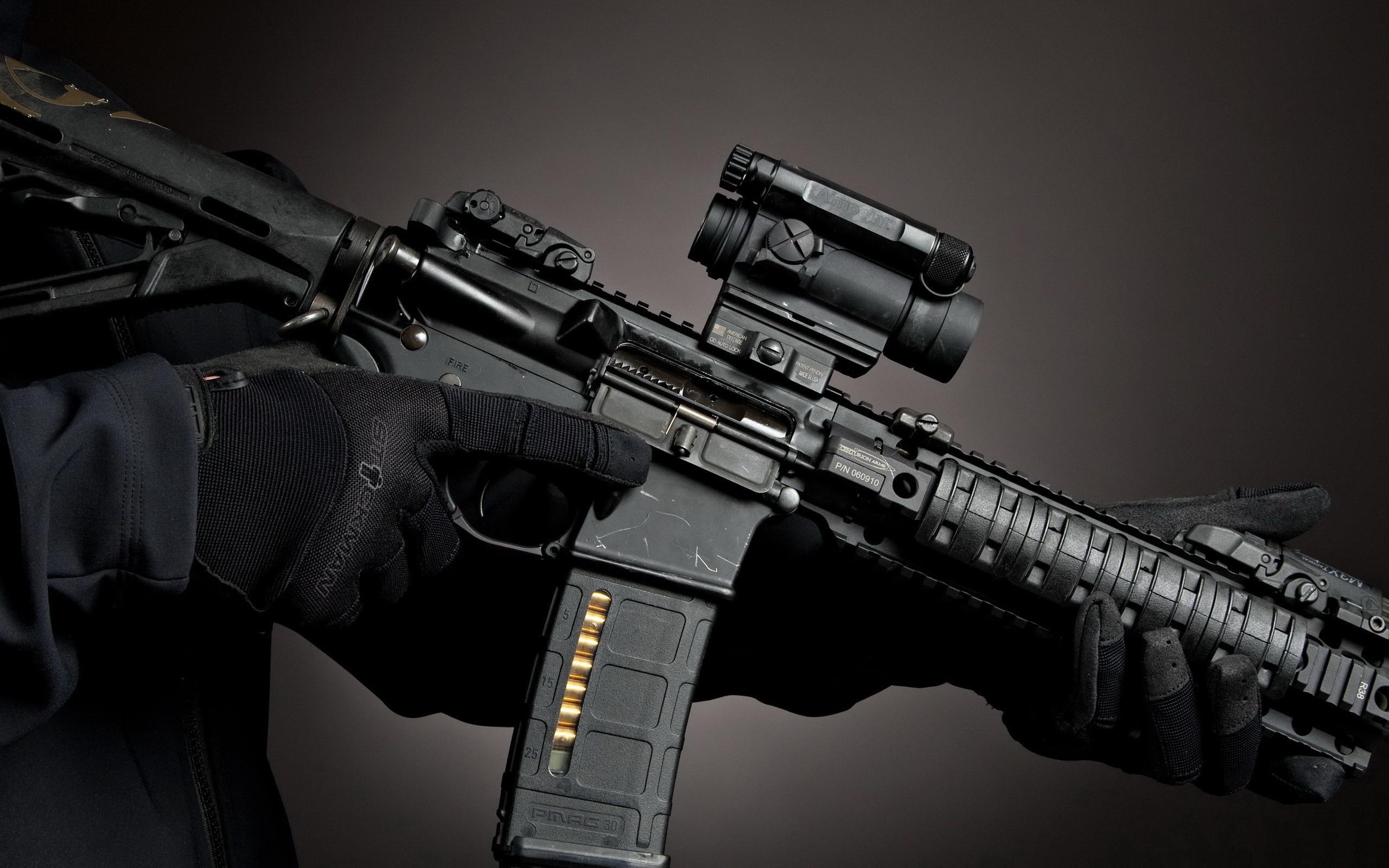 Res: 2560x1600, Guns Desktop Background