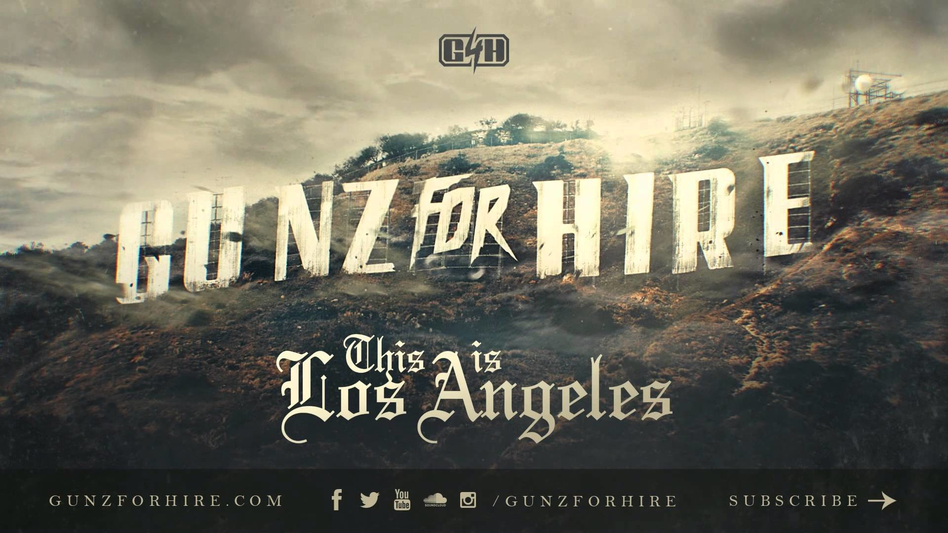 Res: 1920x1080, Gunz For Hire - This is Los Angeles [OUT NOW]