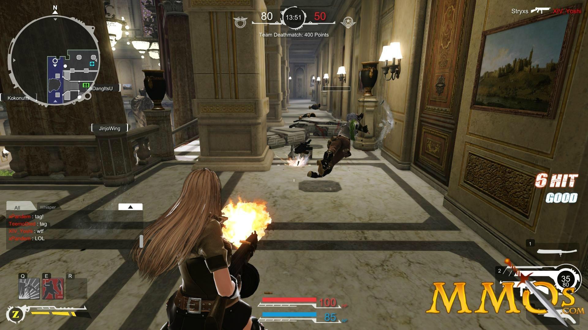 Res: 1920x1080, Gunz 2 Beautiful gameplay main