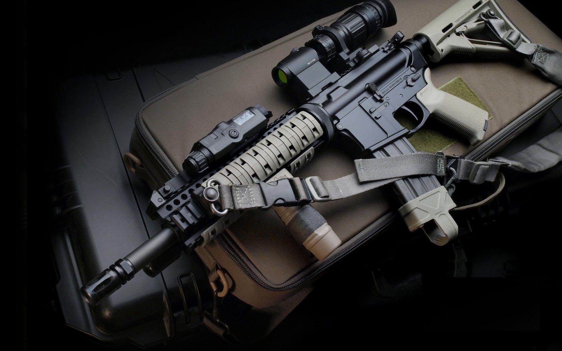 Res: 1920x1200, Guns High Quality Wallpaper