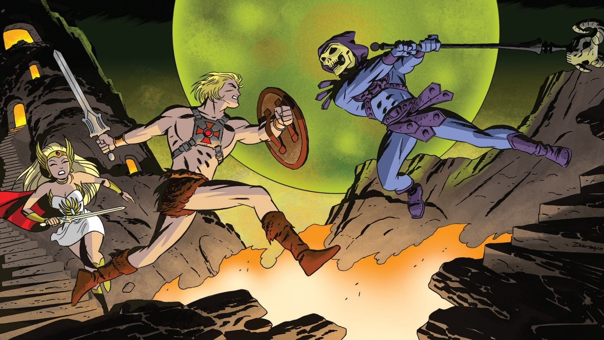Res: 1920x1080, Skeletor She-Ra Masters of the Universe He-Man 1080p HD Wallpaper Background