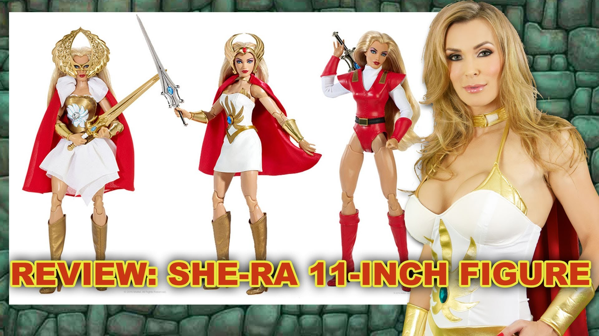 Res: 1920x1080, #REVIEW: She-Ra 2016 San Diego Comic Con Exclusive Figure by Matty  Collector - YouTube