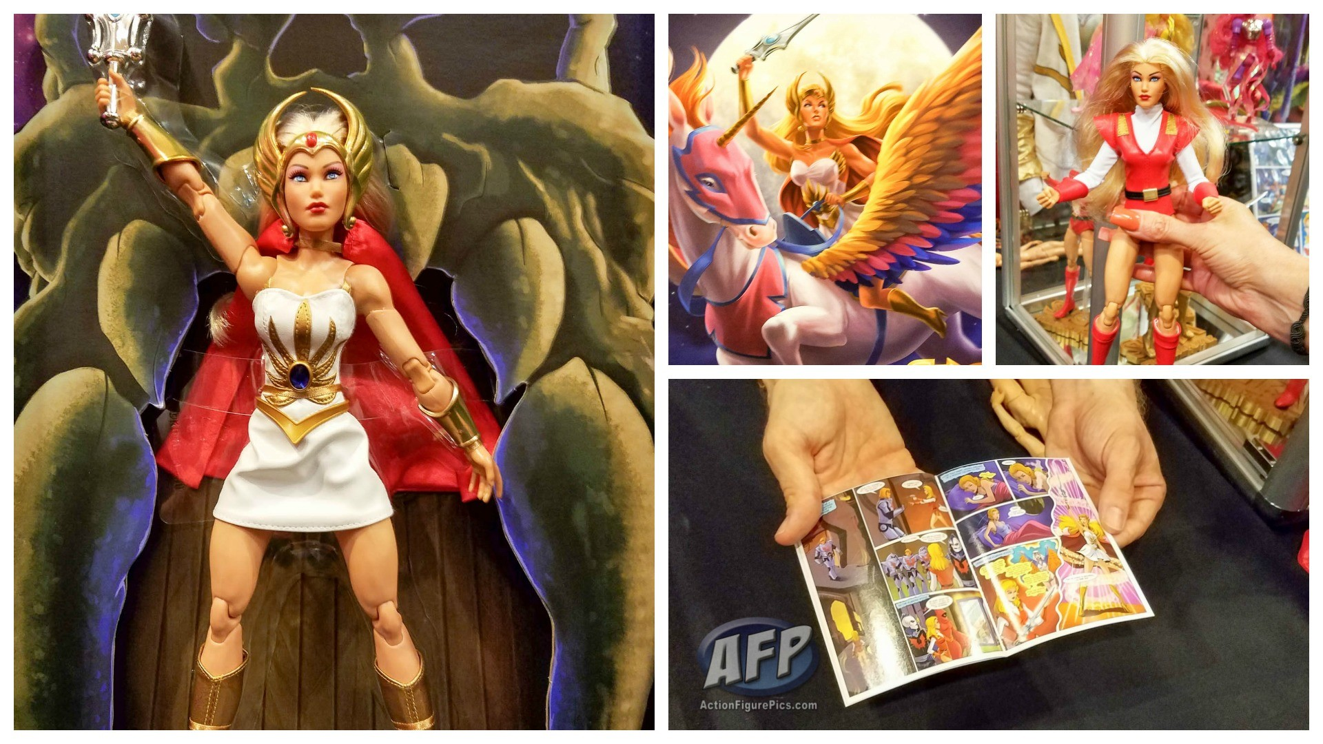 Res: 1920x1080, Power-Con 2016 - Mattel SDCC 2016 She-Ra Exclusive