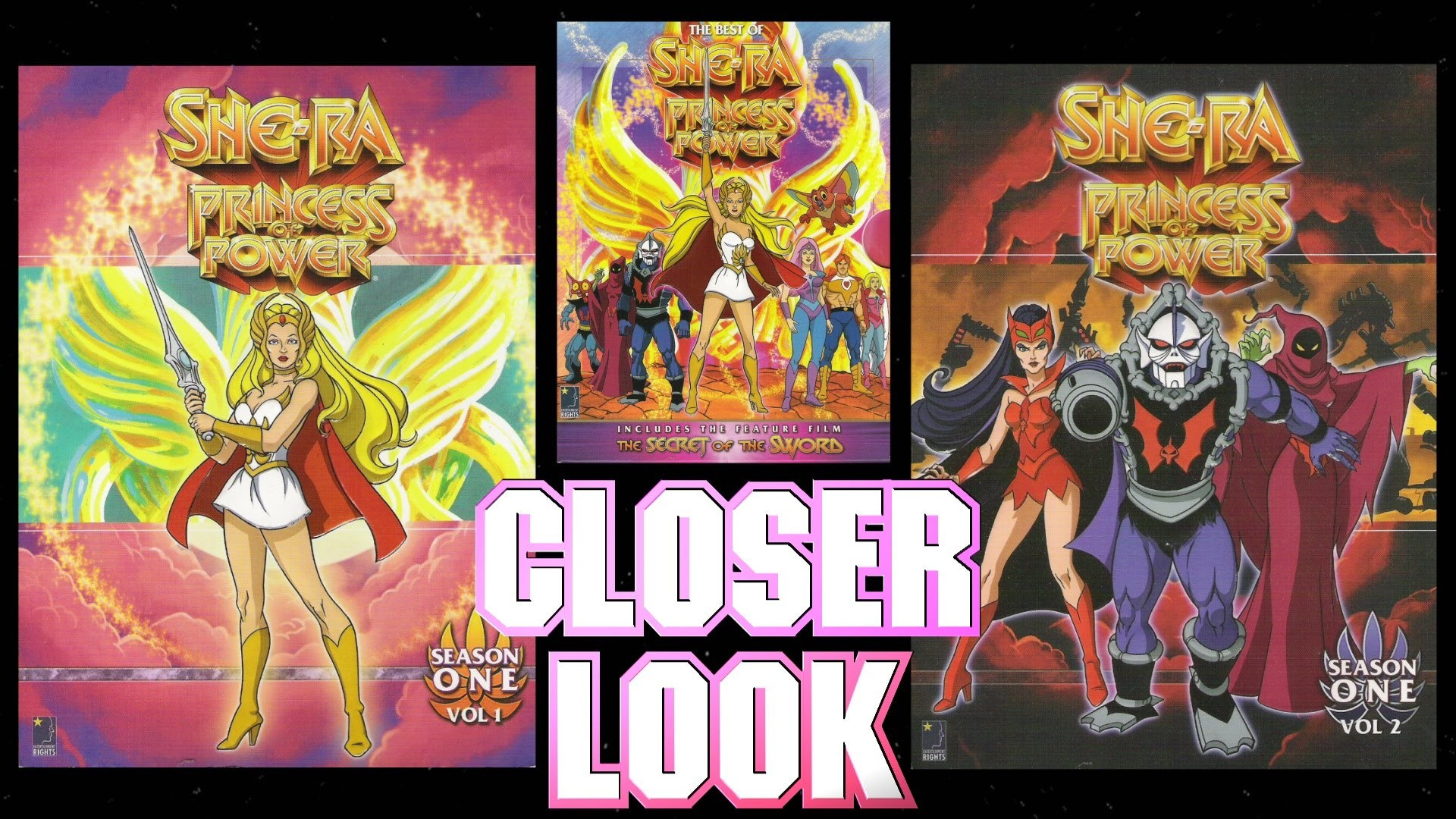Res: 1920x1080, She-Ra BCI Eclipse DVD Collection Closer Look - Part 1