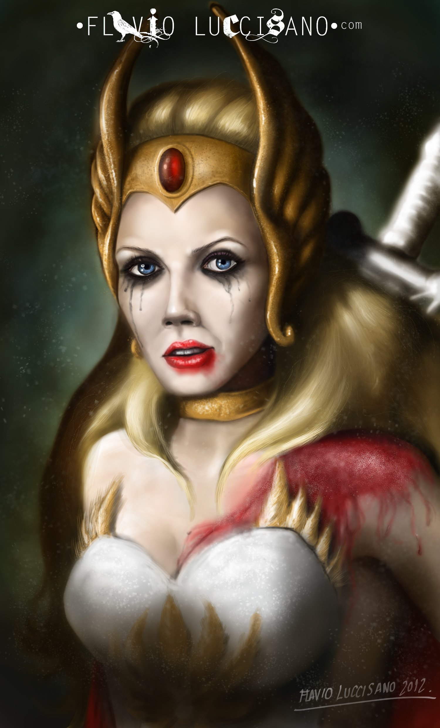 Res: 1500x2480, ... flavioluccisano She-Ra: The Princess of the Power by flavioluccisano