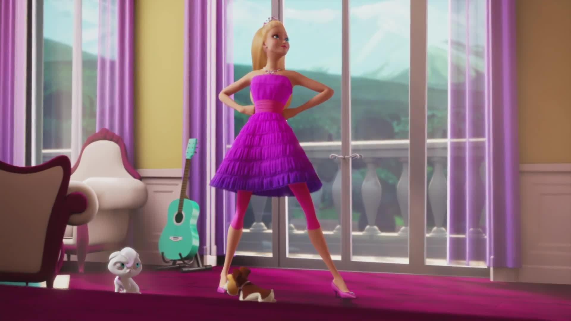 Res: 1920x1080, HD Widescreen Wallpaper - barbie in princess power