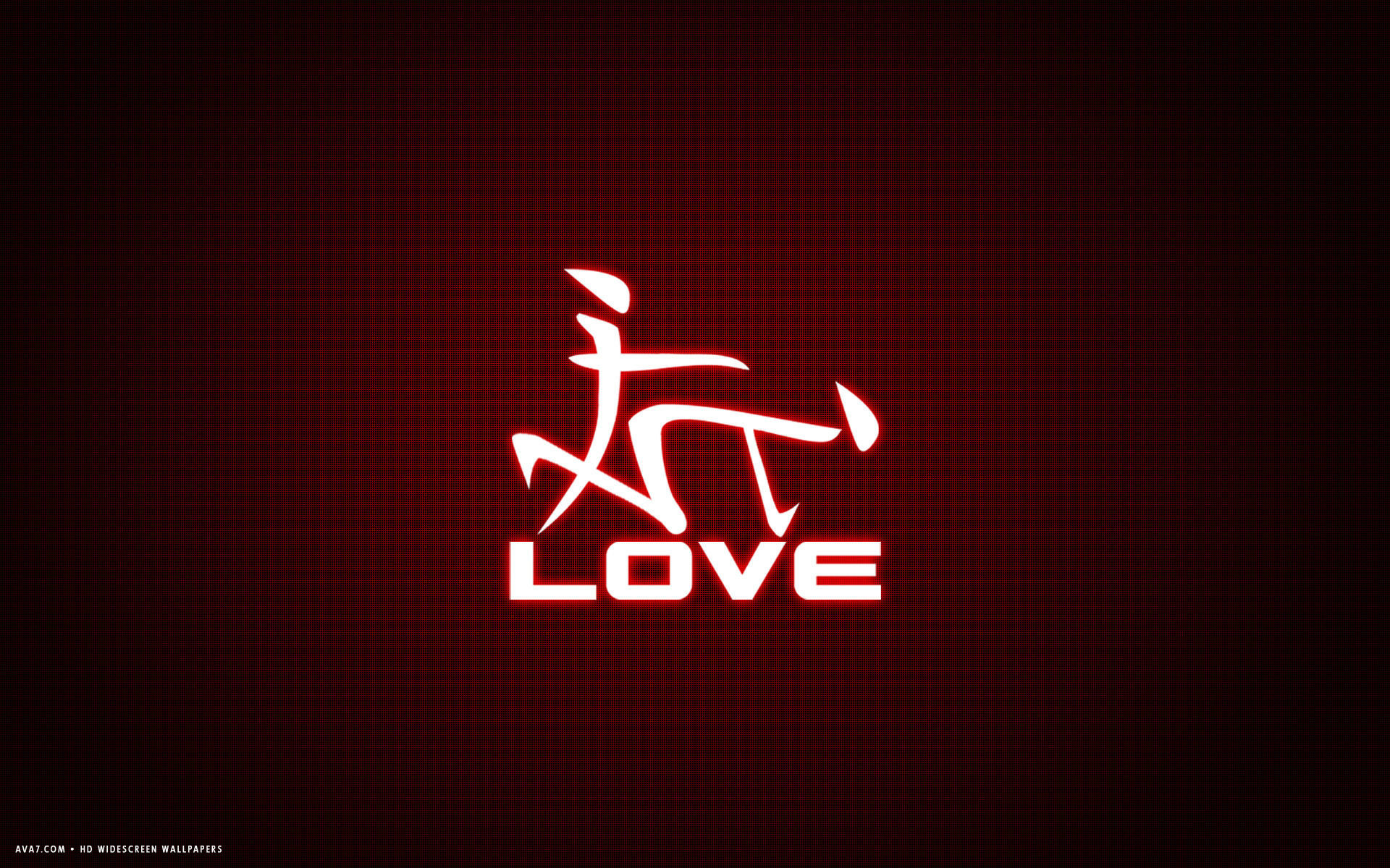 Res: 1920x1200, love word japanese letters funny red simple hd widescreen wallpaper