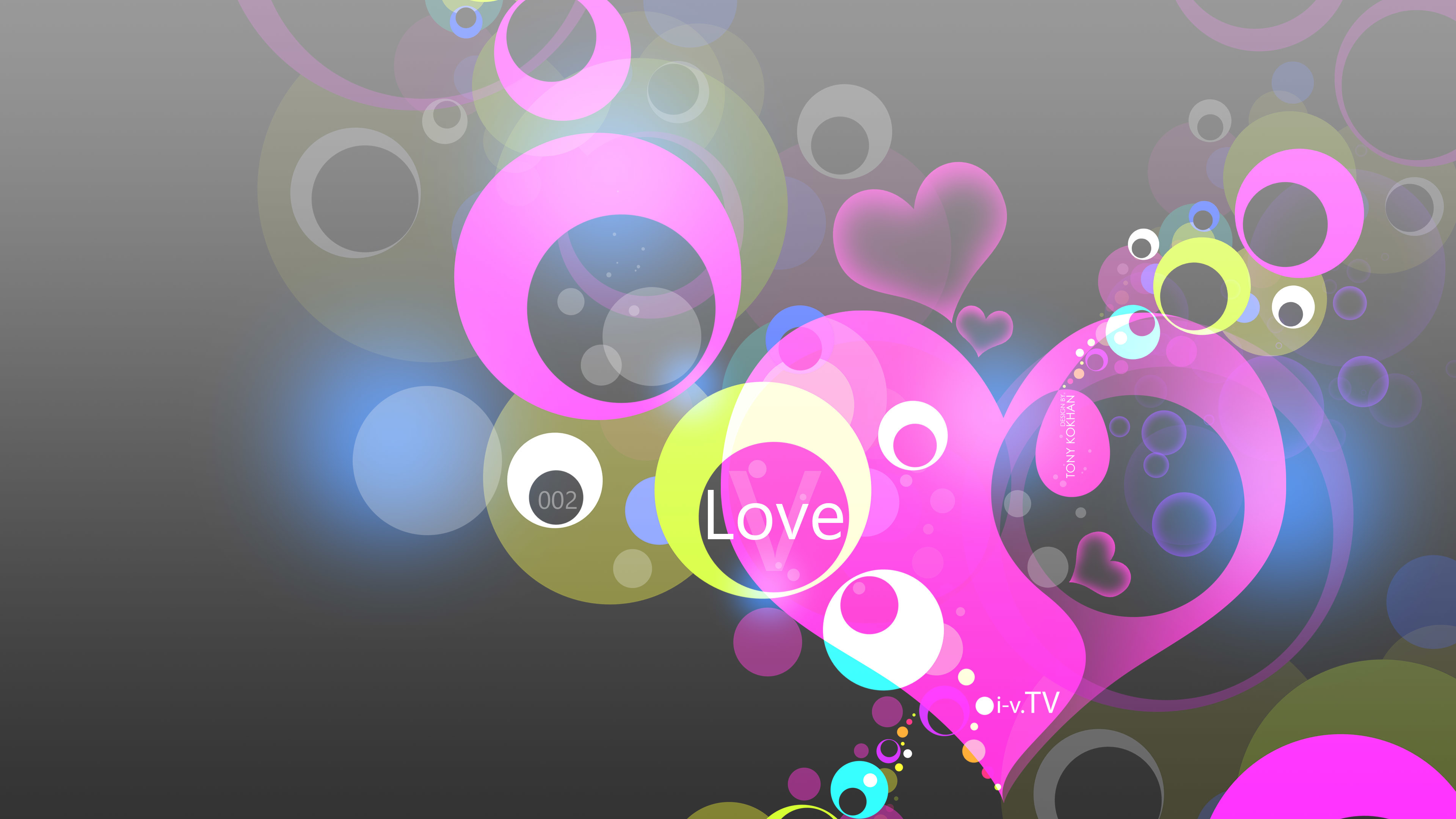 Res: 3840x2160, Love-Simple-Creative-Abstract-Two-Word-Style-2015-