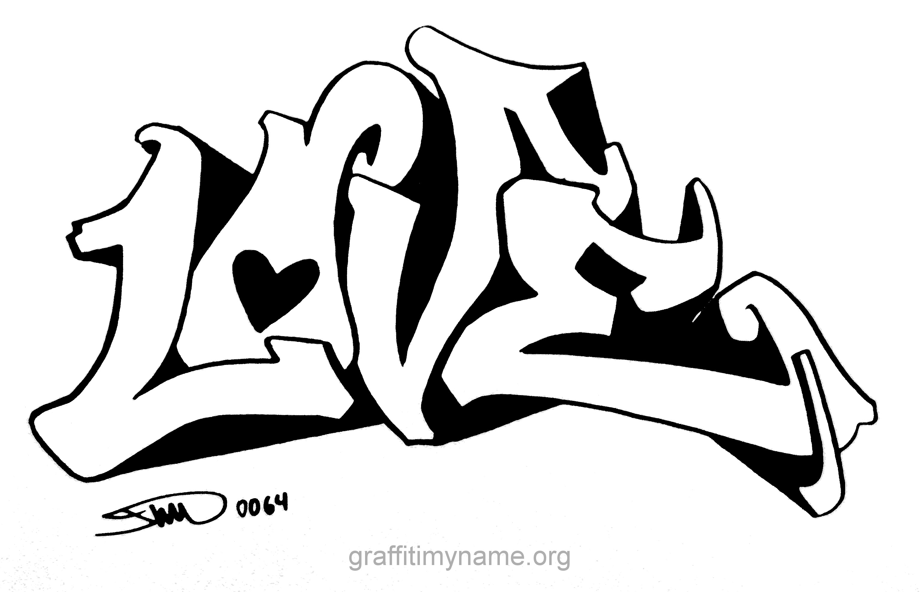 Res: 3072x1976, Cool Graffiti Love Words I Love You Graffiti Coloring Pages Many  Interesting Cliparts