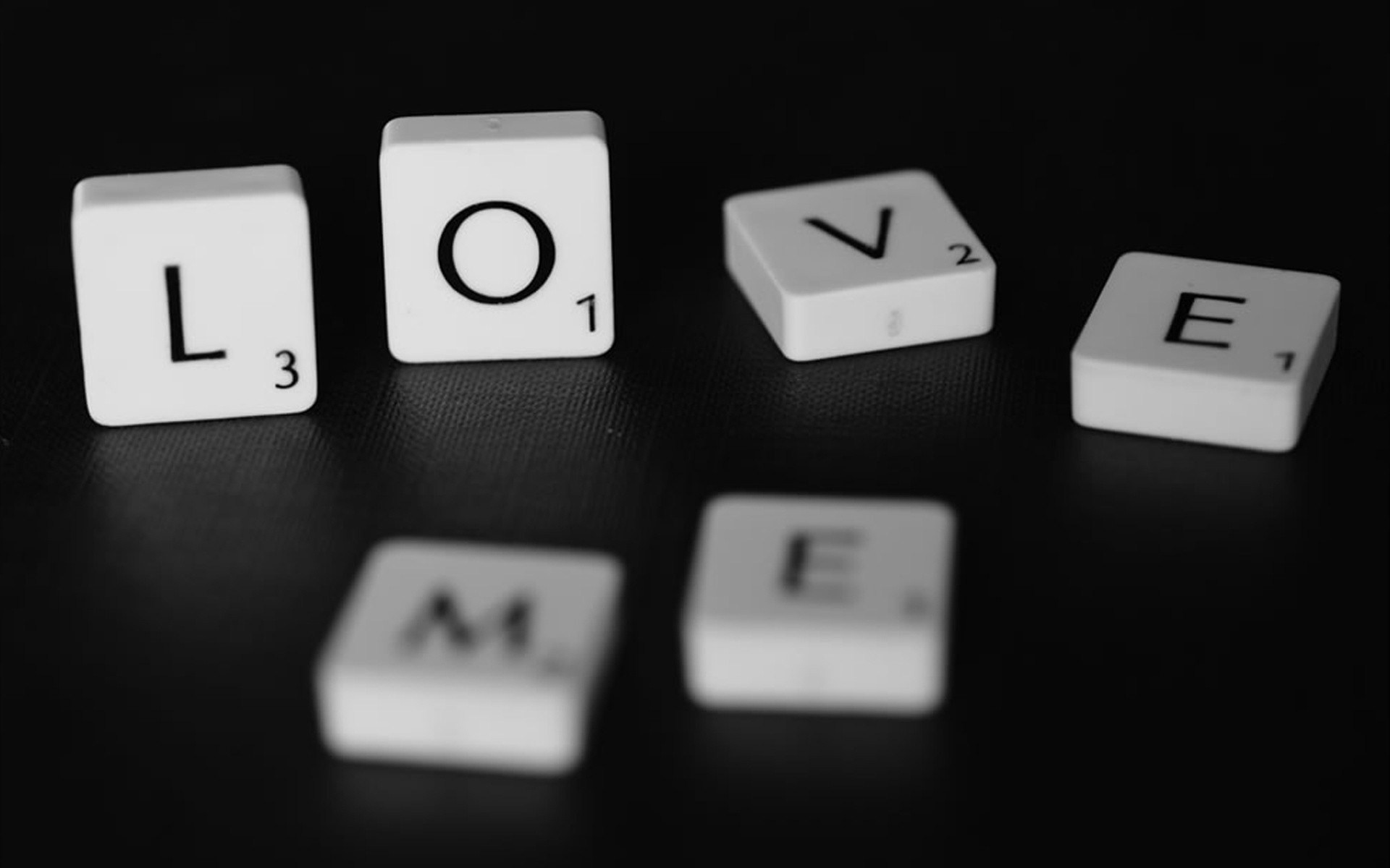 Res: 1920x1200, Love Me Scrabble Word Game Photo