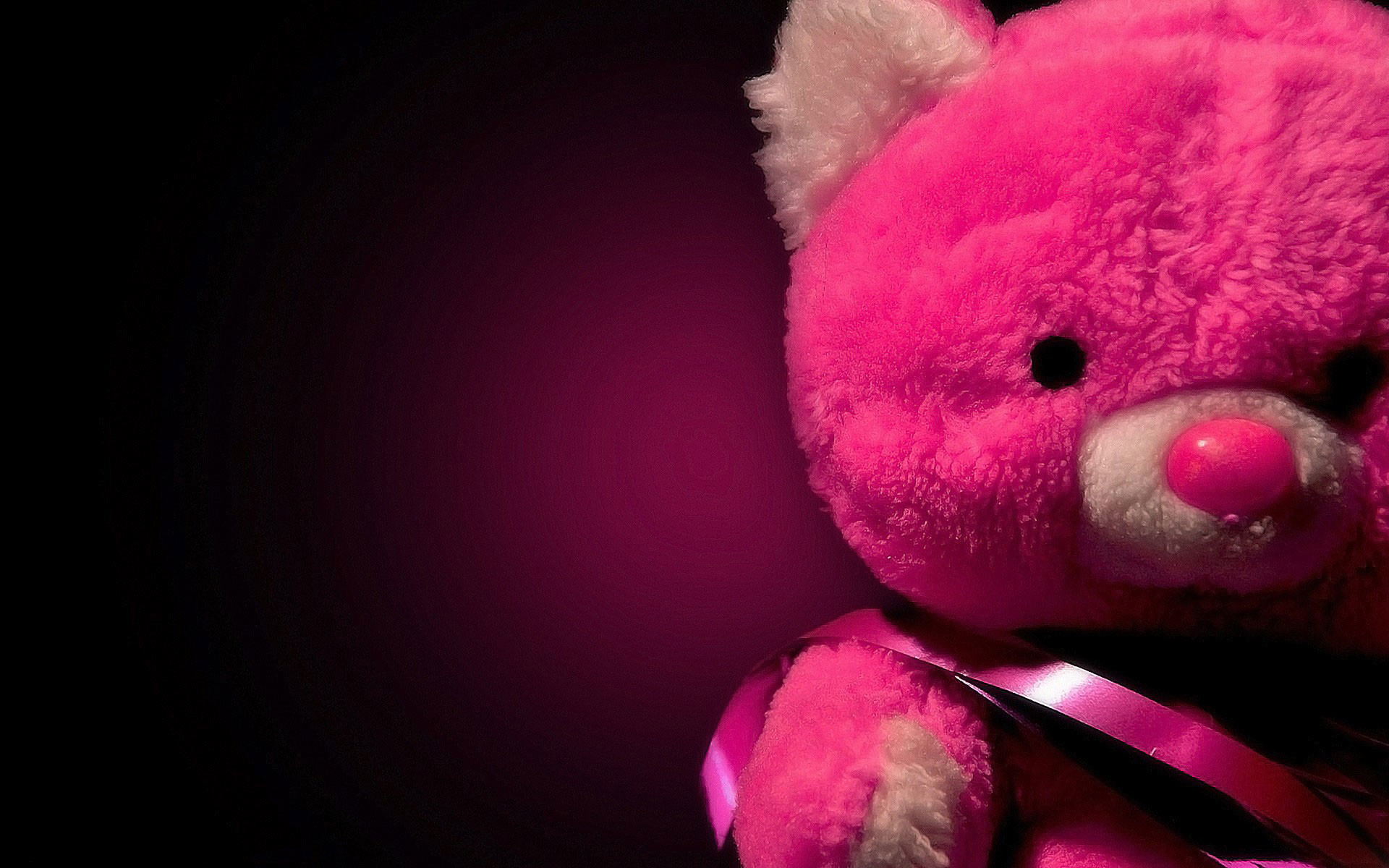 Res: 1920x1200, Cute Pink Teddy Bear Wallpaper HD Desktop Wallpaper, Background Image