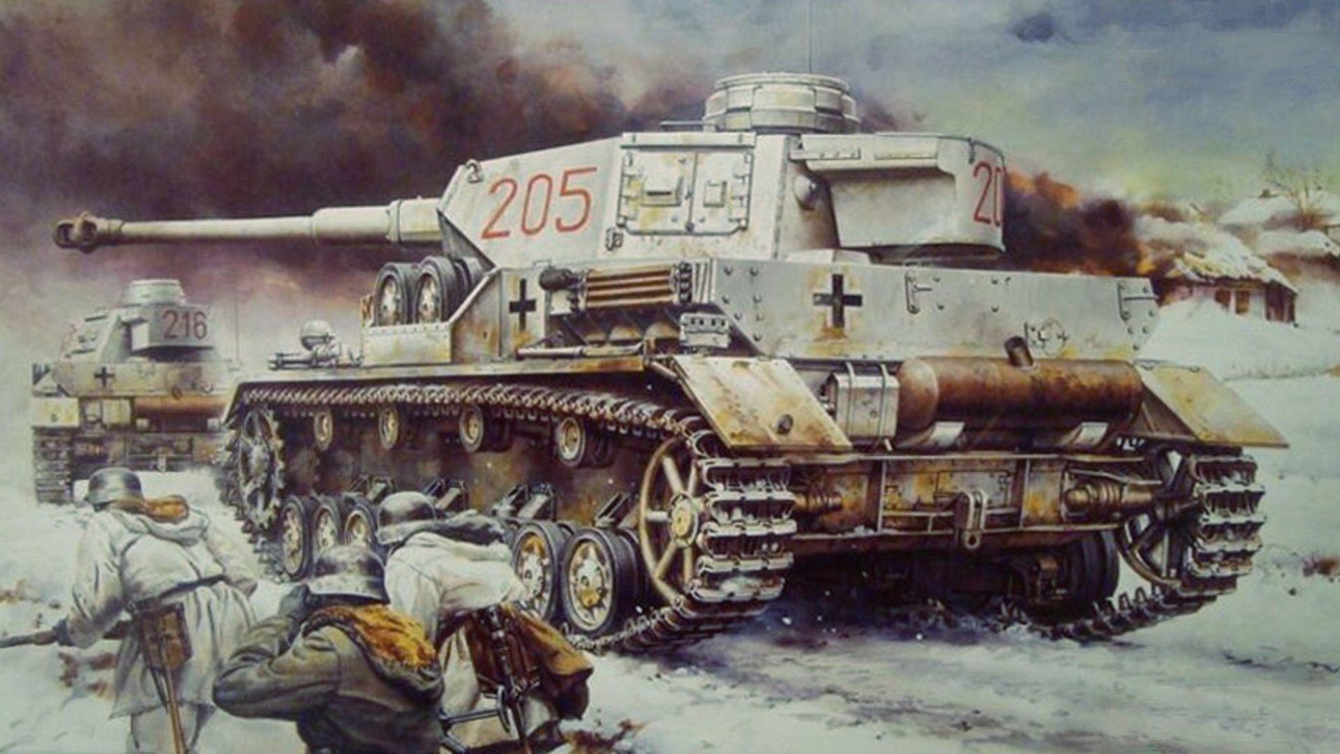 Res: 1920x1080, Panzer IV tank wallpaper