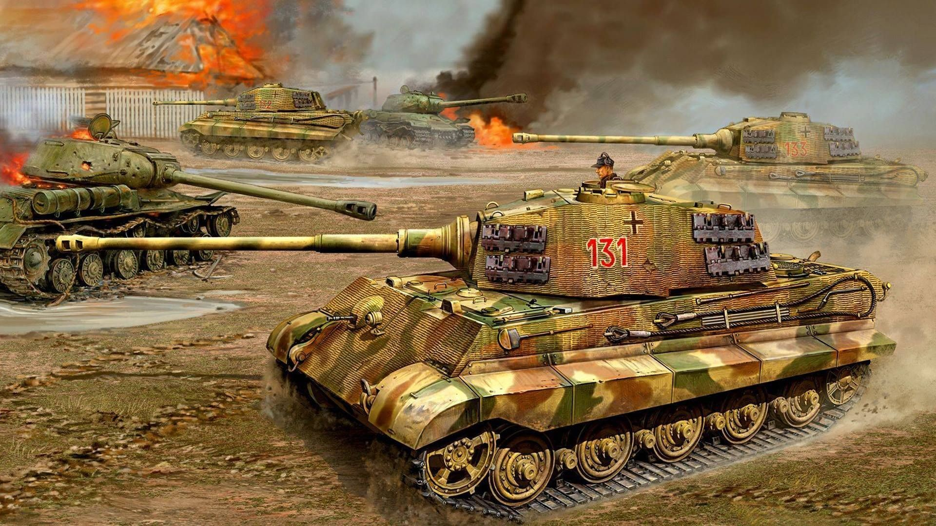 Res: 1920x1080, 11096613_1757577671135597_8667541881345407301_o.jpg 1,920×1,080 pixels · Tank  WallpaperTiger IiMilitary TankWw2 ...