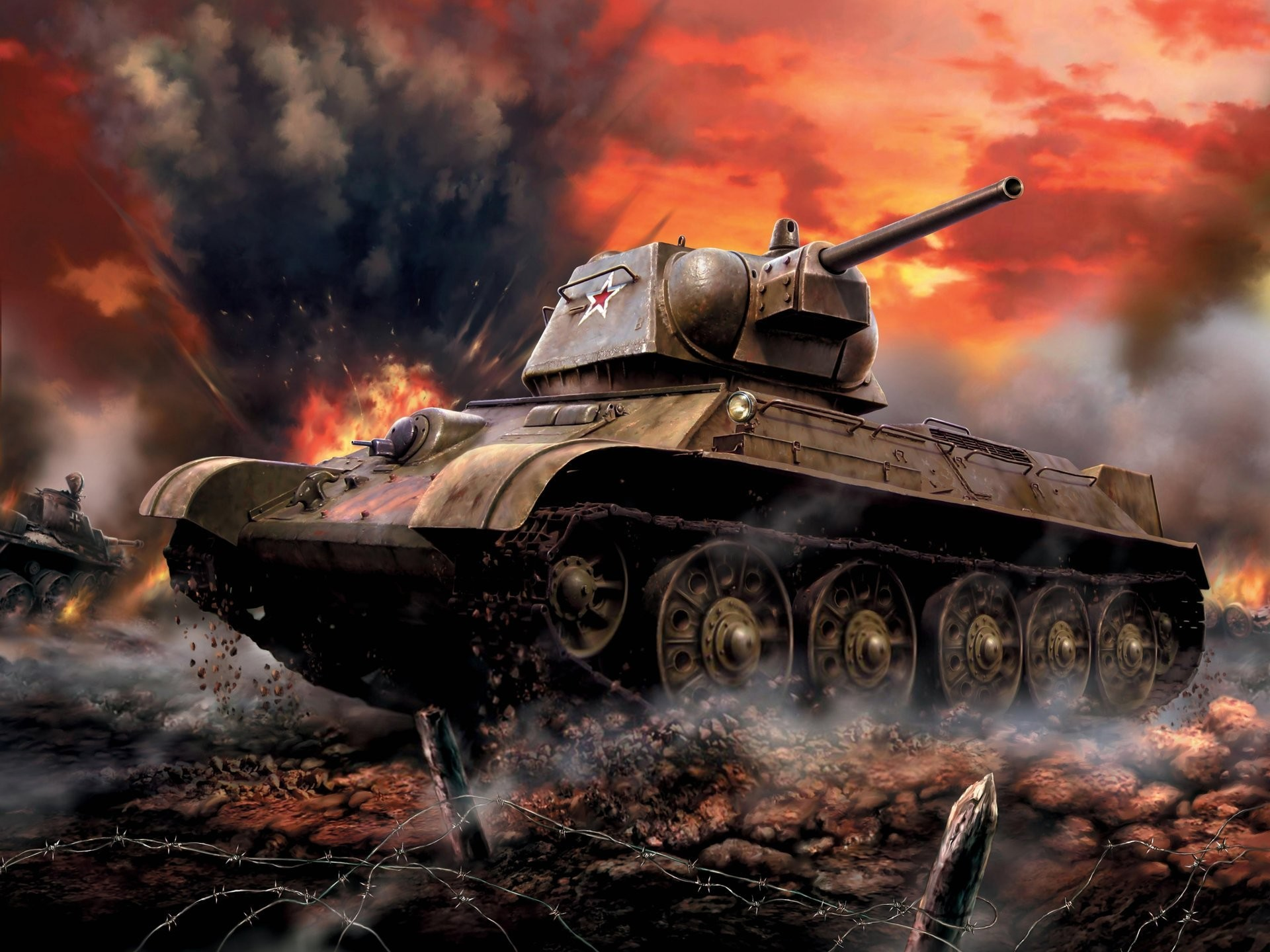 Res: 1920x1440, art tank soviet medium t- 34-76 arr. 1942 . thirty-four formochka battle  soviet union bob ww2. HD wallpaper