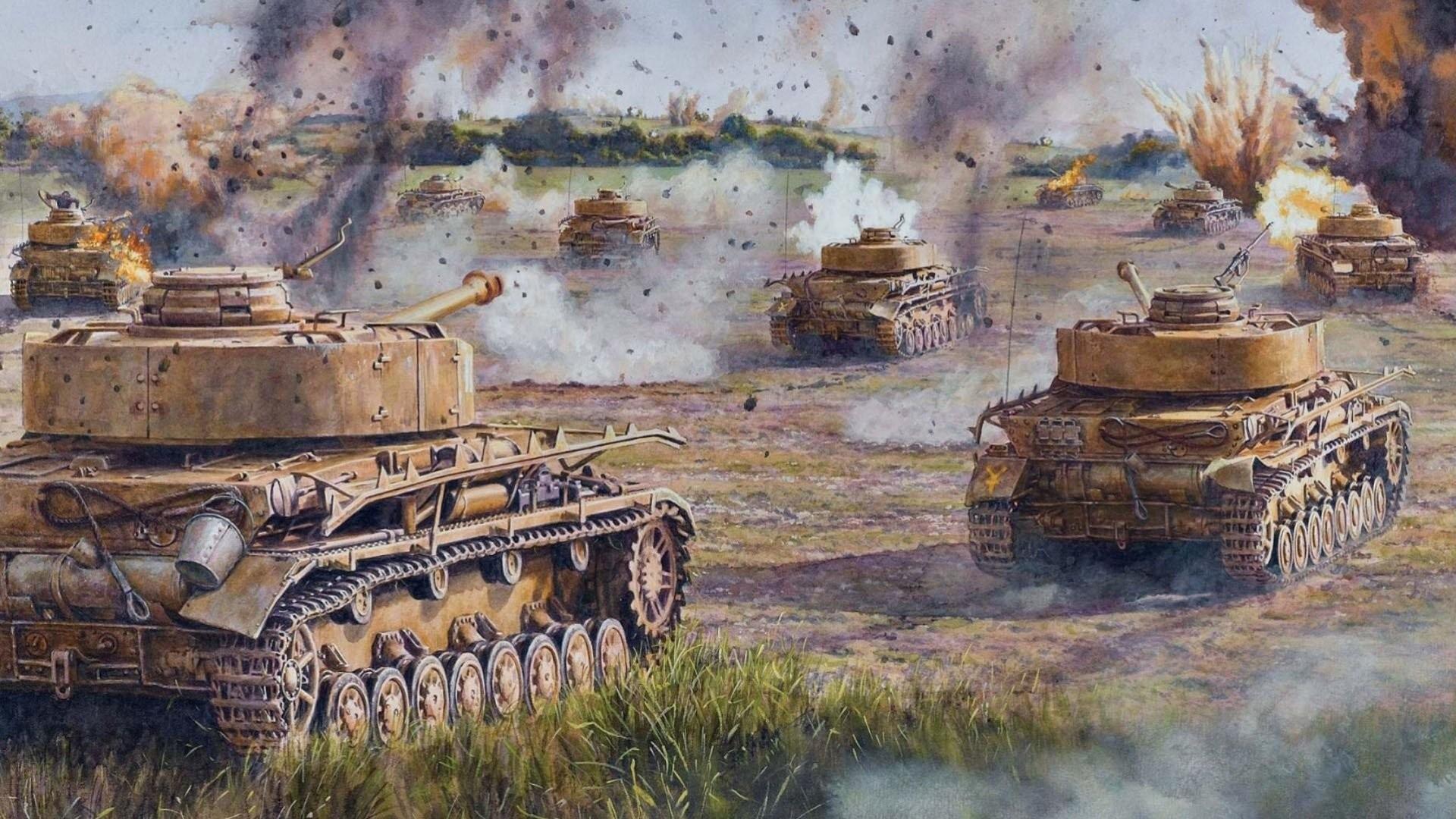Res: 1920x1080, World War 2 Tank Wallpapers