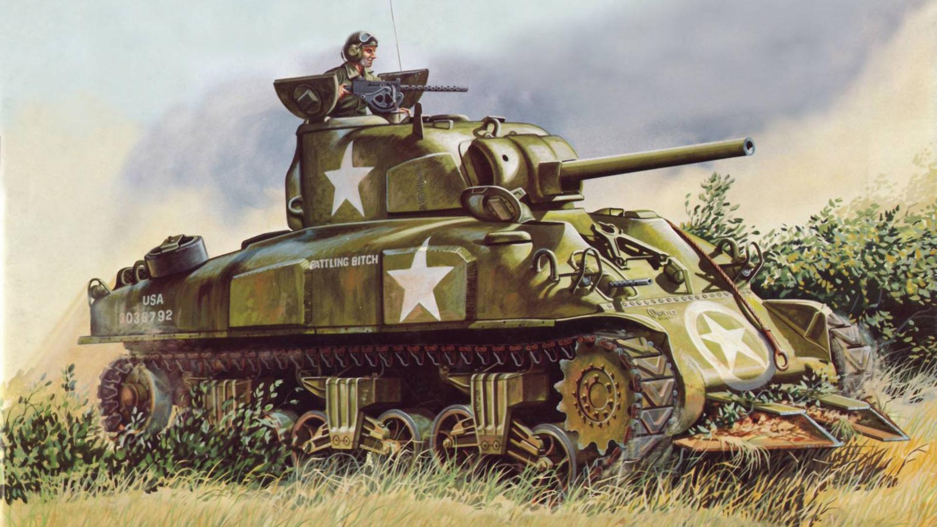 Res: 1920x1080, Sherman tank m4 sherman the main american medium tank of world war