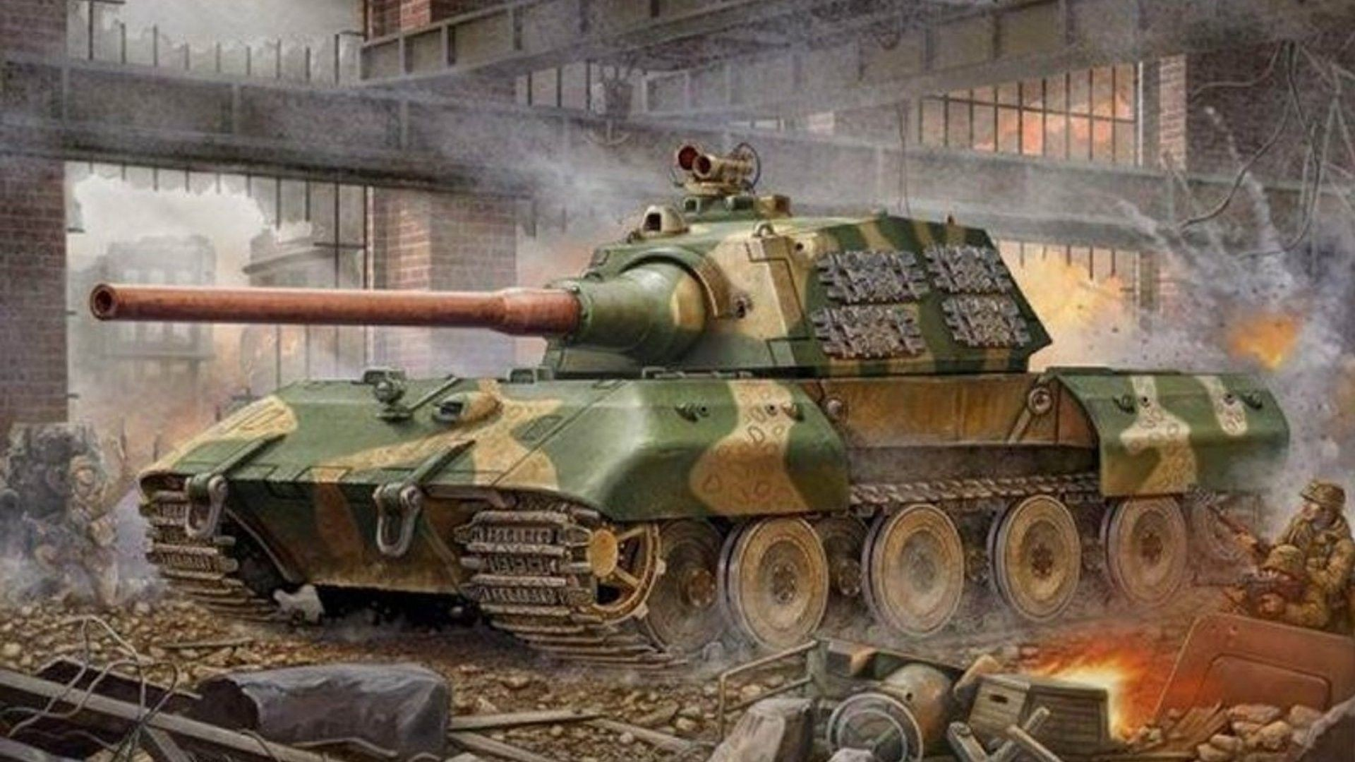 Res: 1920x1080, Nearing the end of WWII, Germany maintained the belief that super tanks  could reverse the war's outcome and help them emerge victorious.