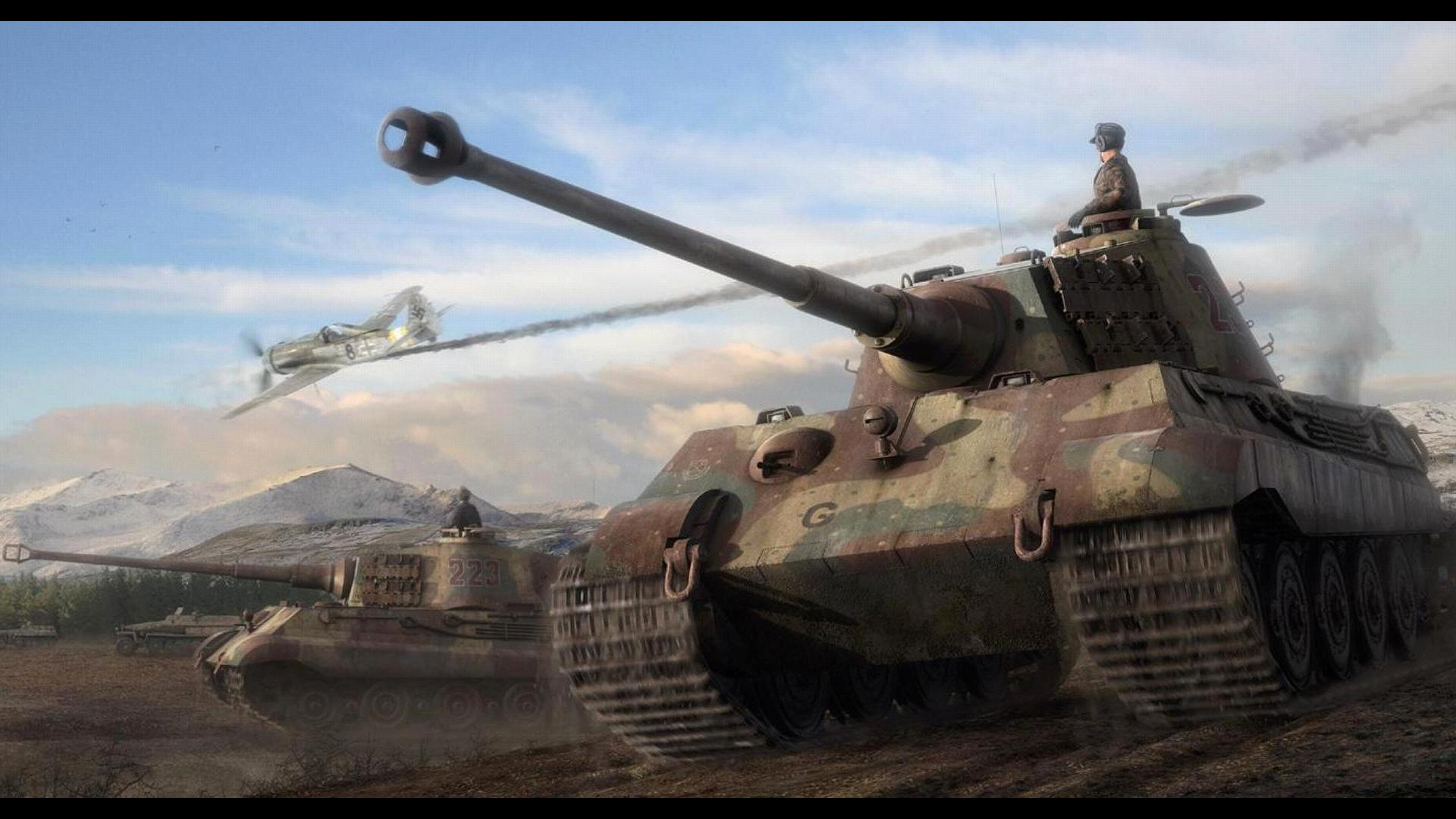 Res: 3840x2160, Tank Wallpaper New World War 2 Tanks Wallpapers Impremedia