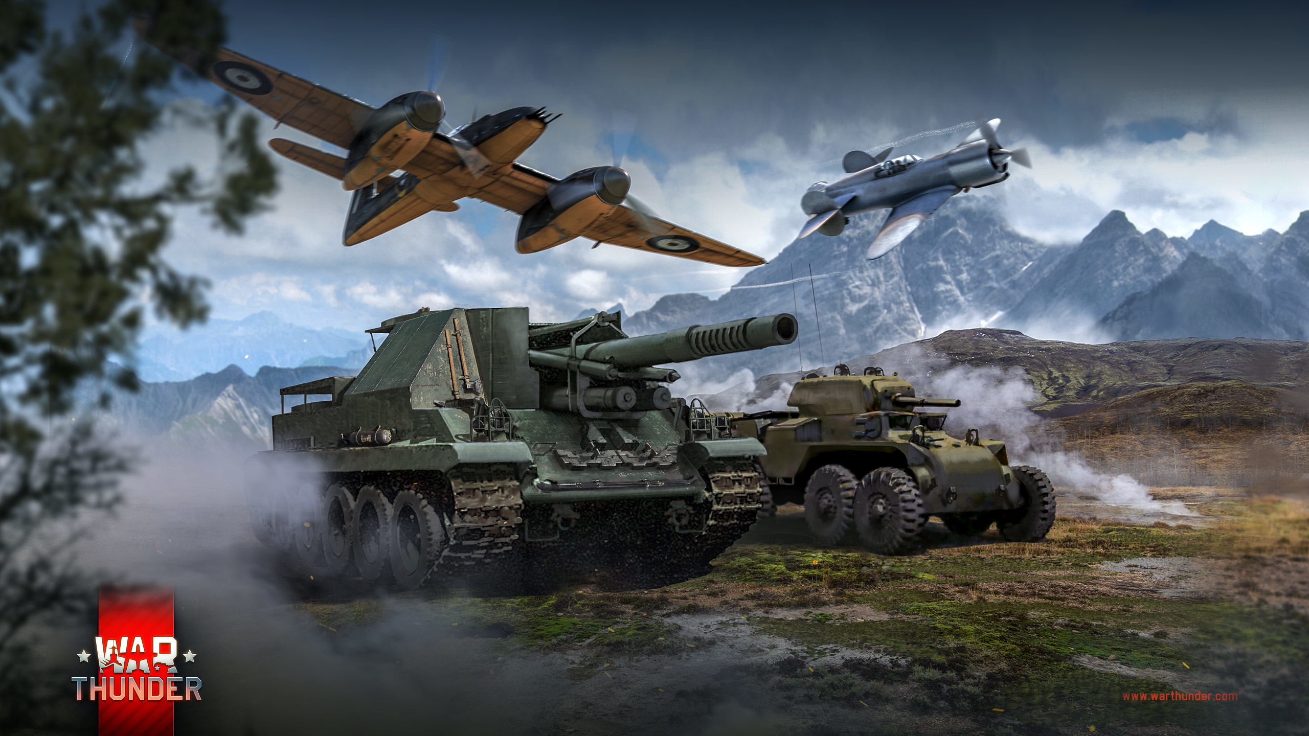 Res: 2560x1440, Chronicles of World War II in War Thunder