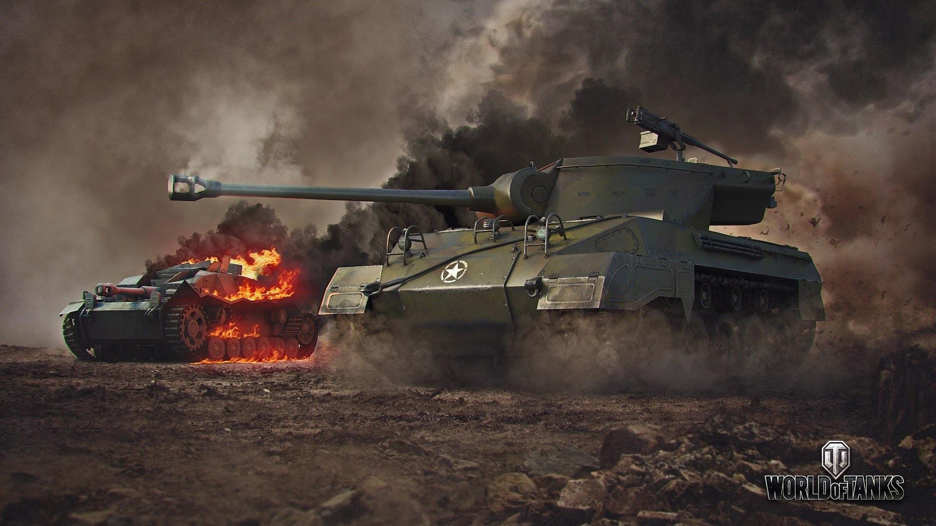 Res: 1920x1080, World War 2 Tank Wallpaper