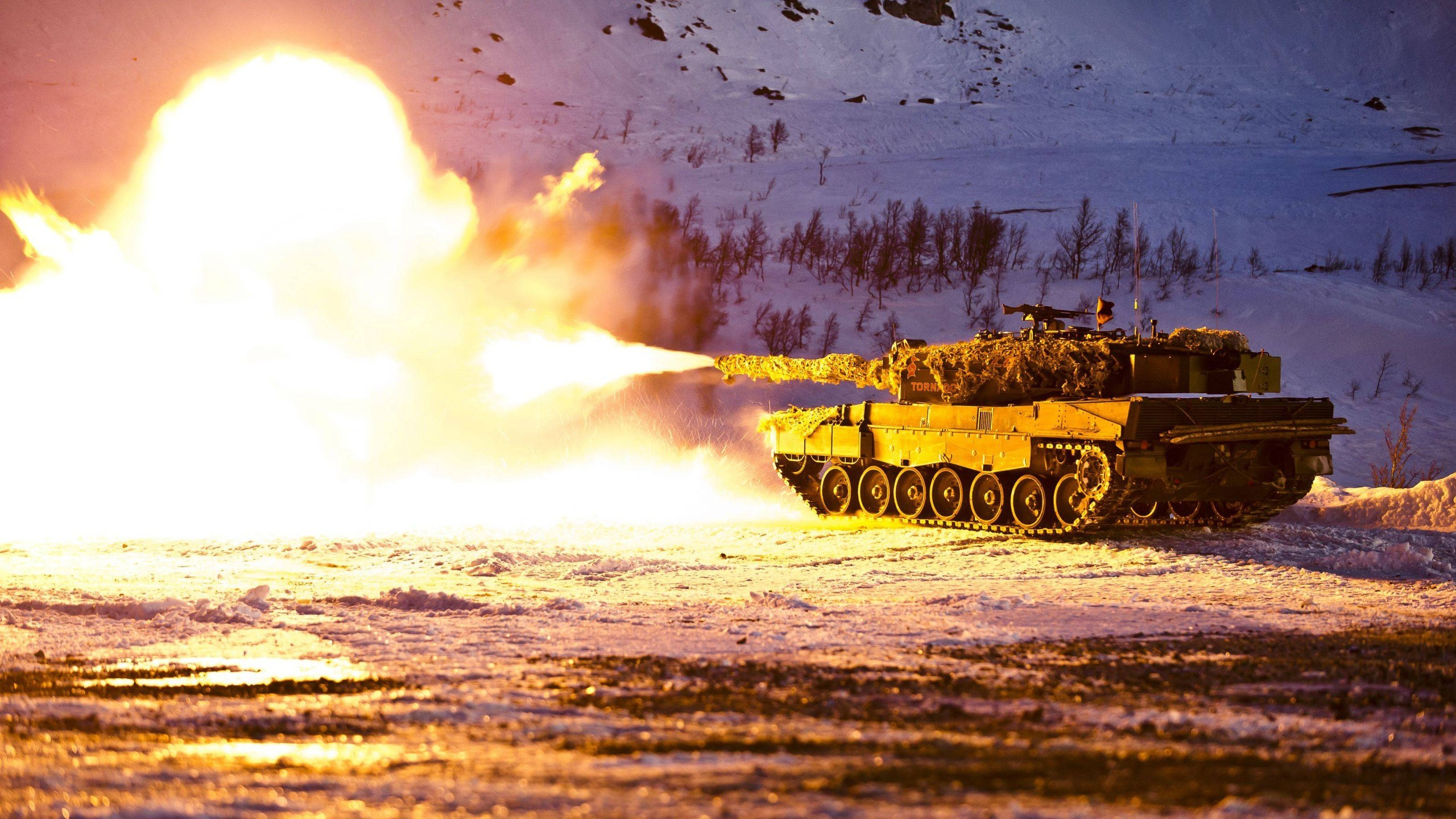 Res: 2560x1440, military, Tank, Norwegian Army, Leopard 2 Wallpapers HD / Desktop and  Mobile Backgrounds