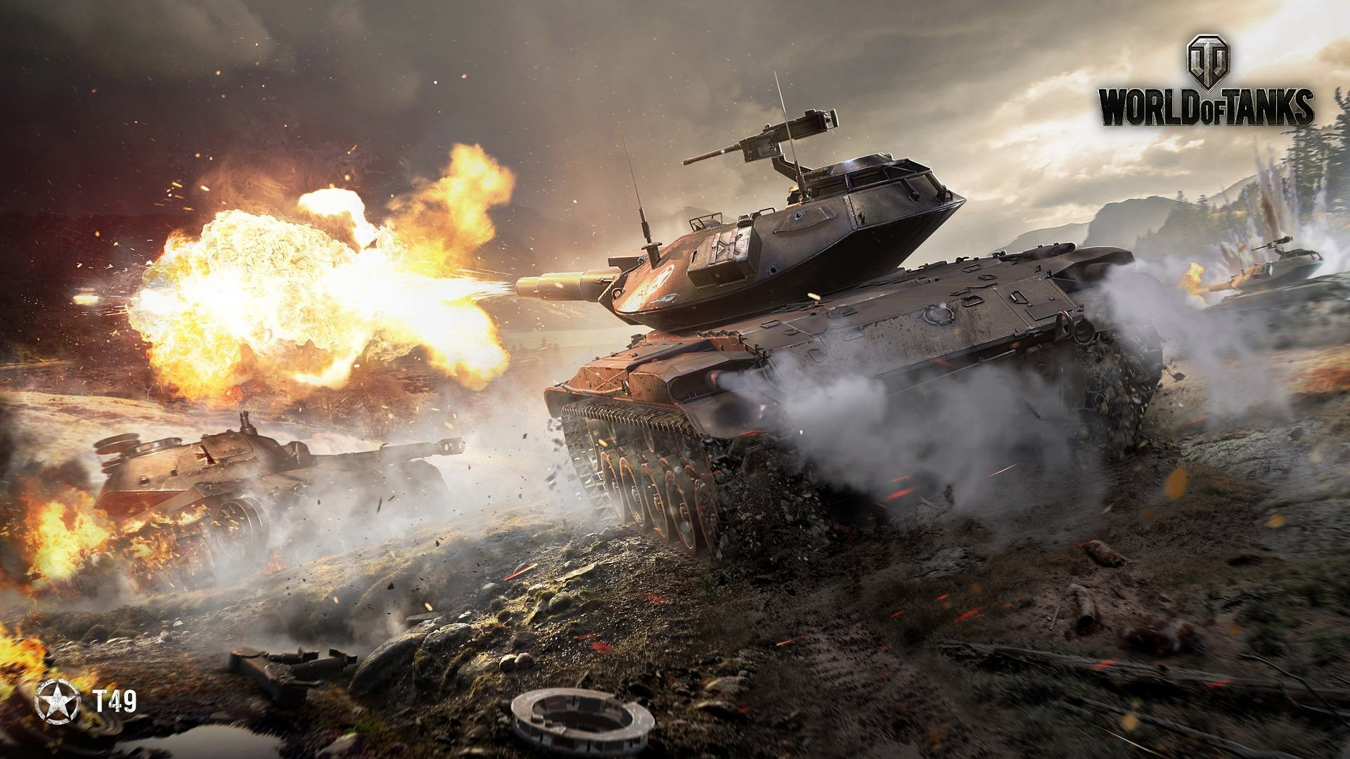 Res: 1920x1080, world of tanks t49 wallpaper and background