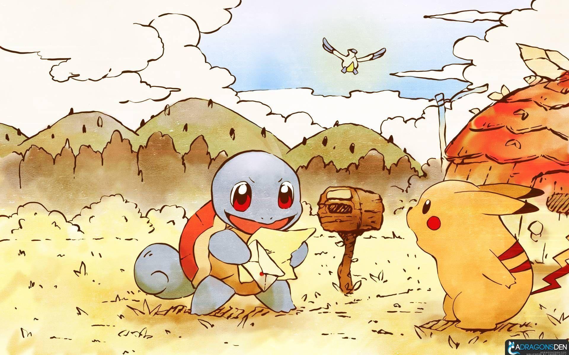 Res: 1920x1200, Cute Pokemon Wallpaper | Download Wallpapers