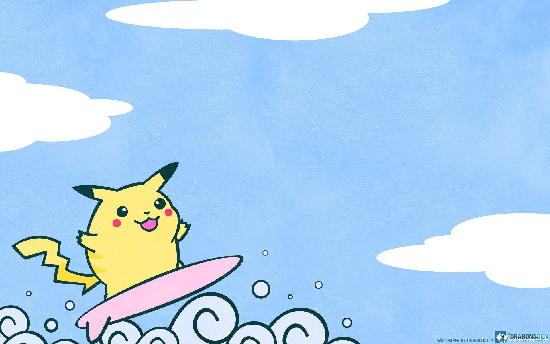 Res: 1920x1200, Pokemon Wallpaper Cute Pikhacu Image | Wallpaper | Basic Background