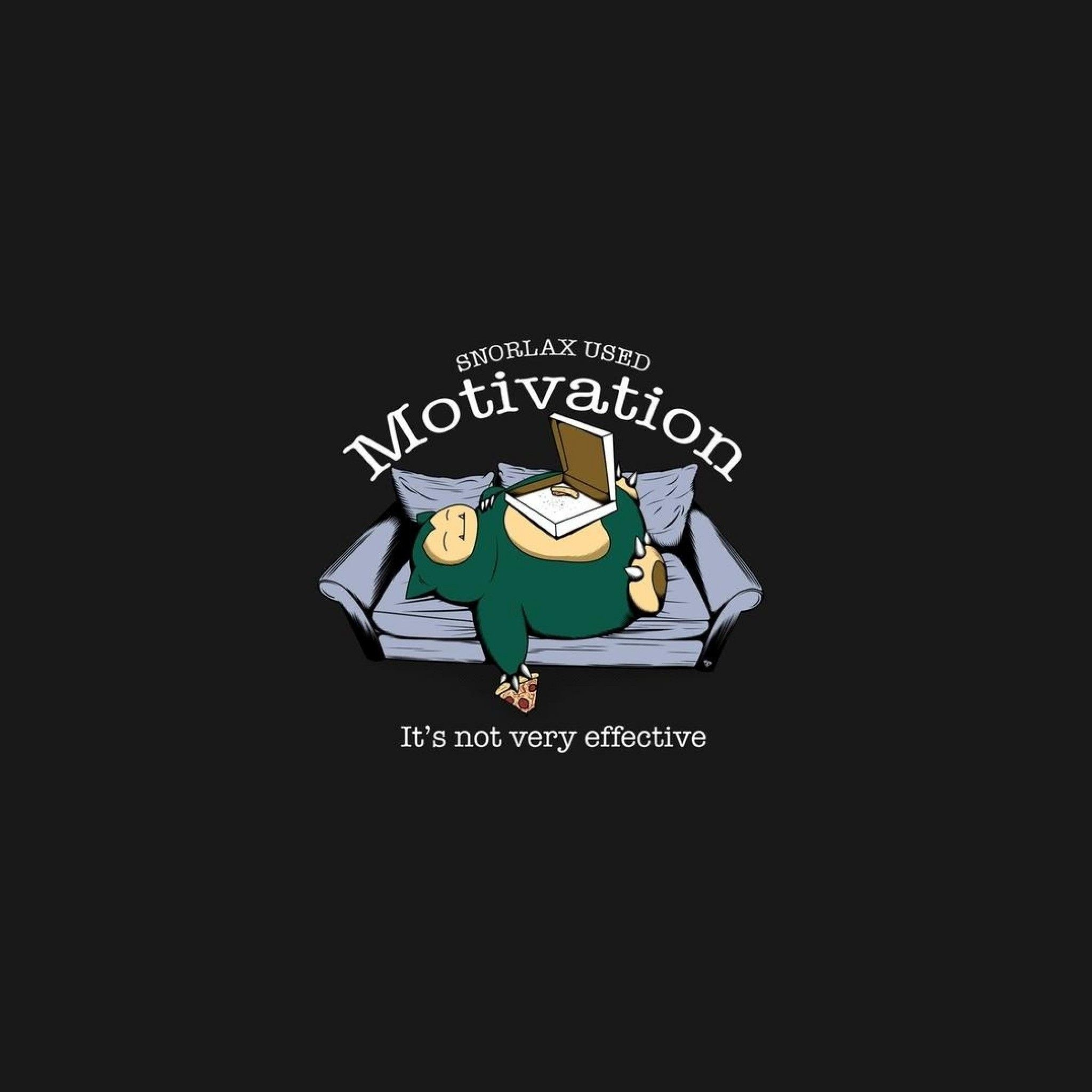 Res: 2048x2048, Funny Snorlax Pokemon Motivation - Tap to see more of your favorite cute  Pokemon wallpapers!