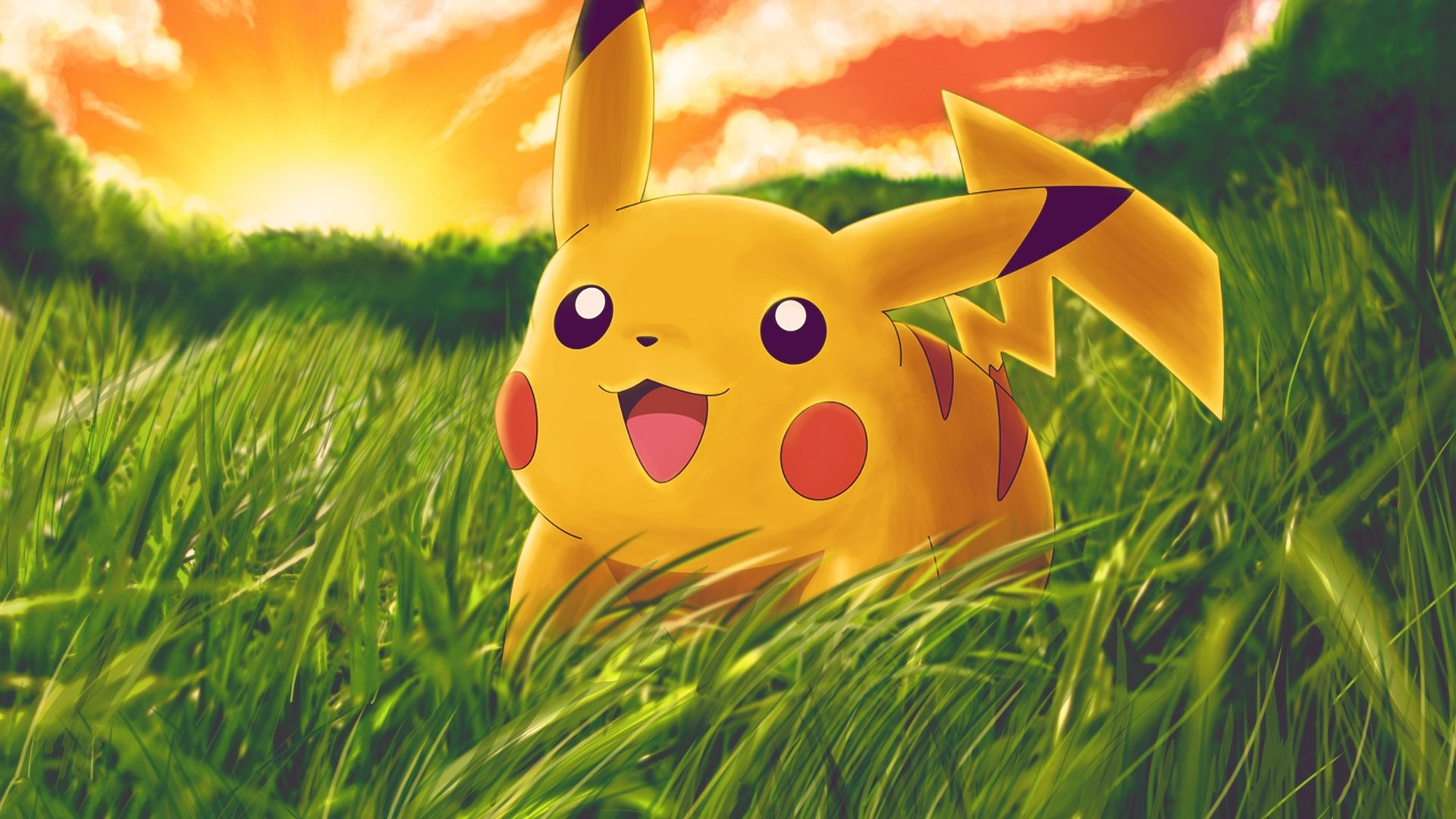Res: 1920x1080, Pikachu Hd Backgrounds Wallpaper Cute Pokemon For Smartphone Pics
