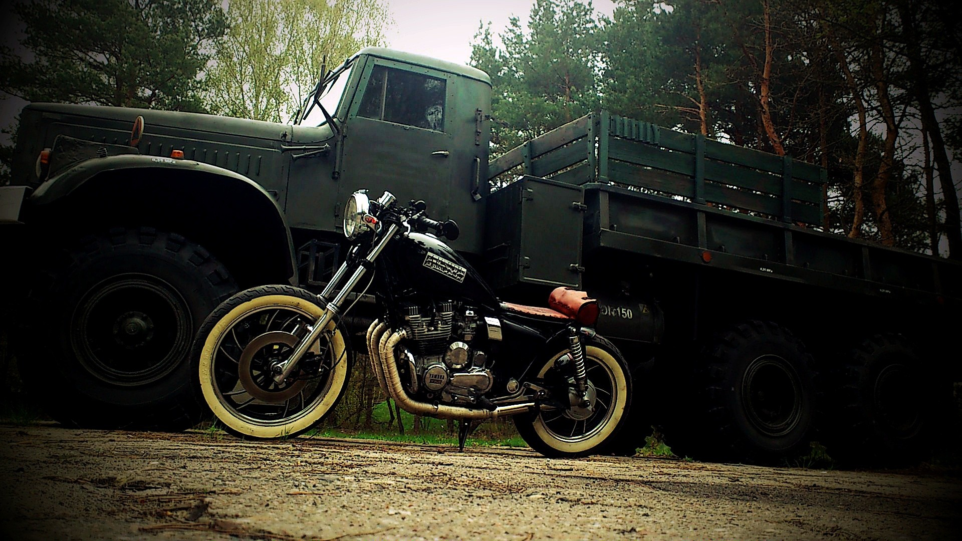 Res: 1920x1080, Bobber Motorcycle HD Wallpaper. Click on the image to view full size and  download.