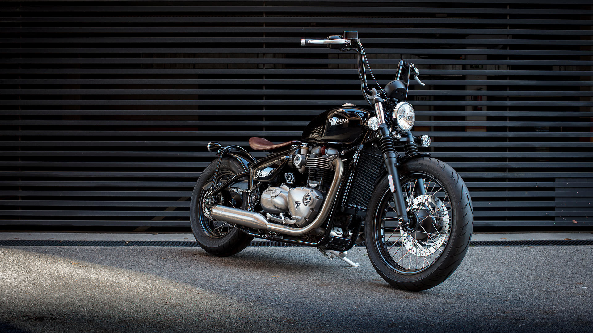 Res: 1920x1080, Check Triumph Bonneville Bobber HD