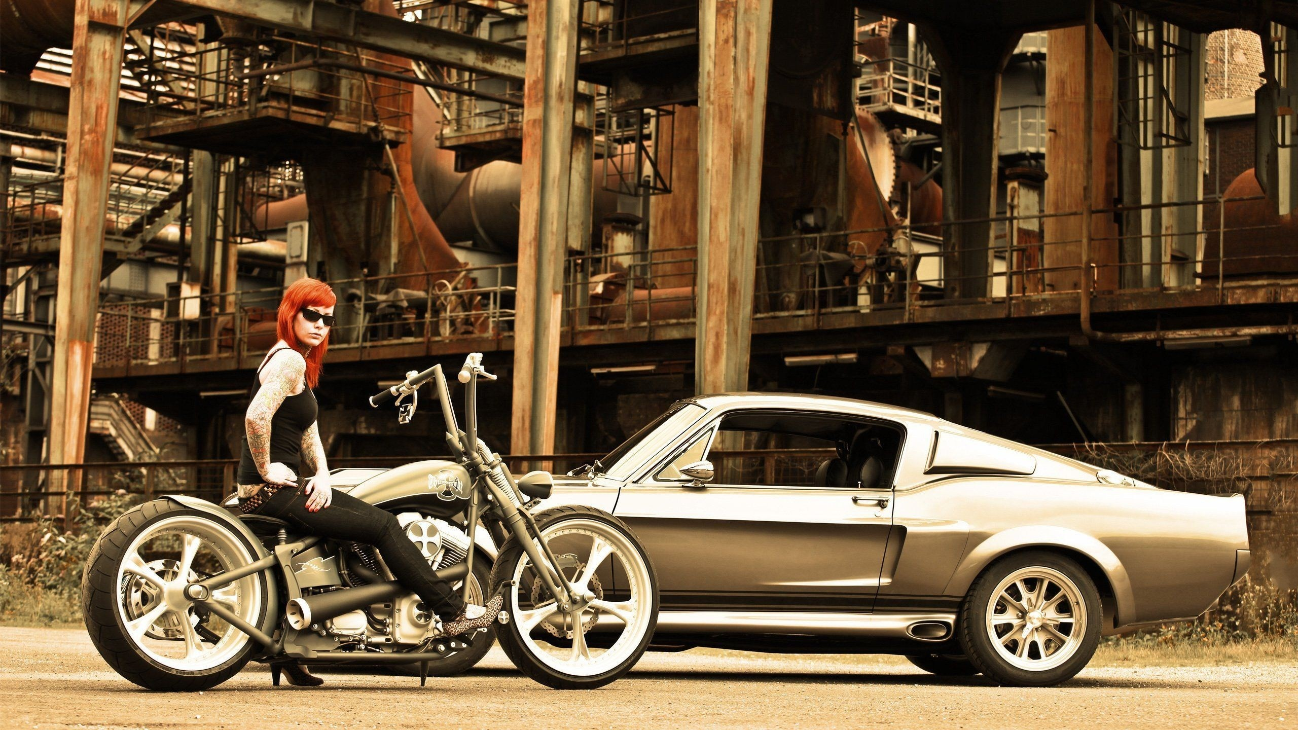 Res: 2560x1440, Bobber Motorcycle Pics (Mobile, iPad)