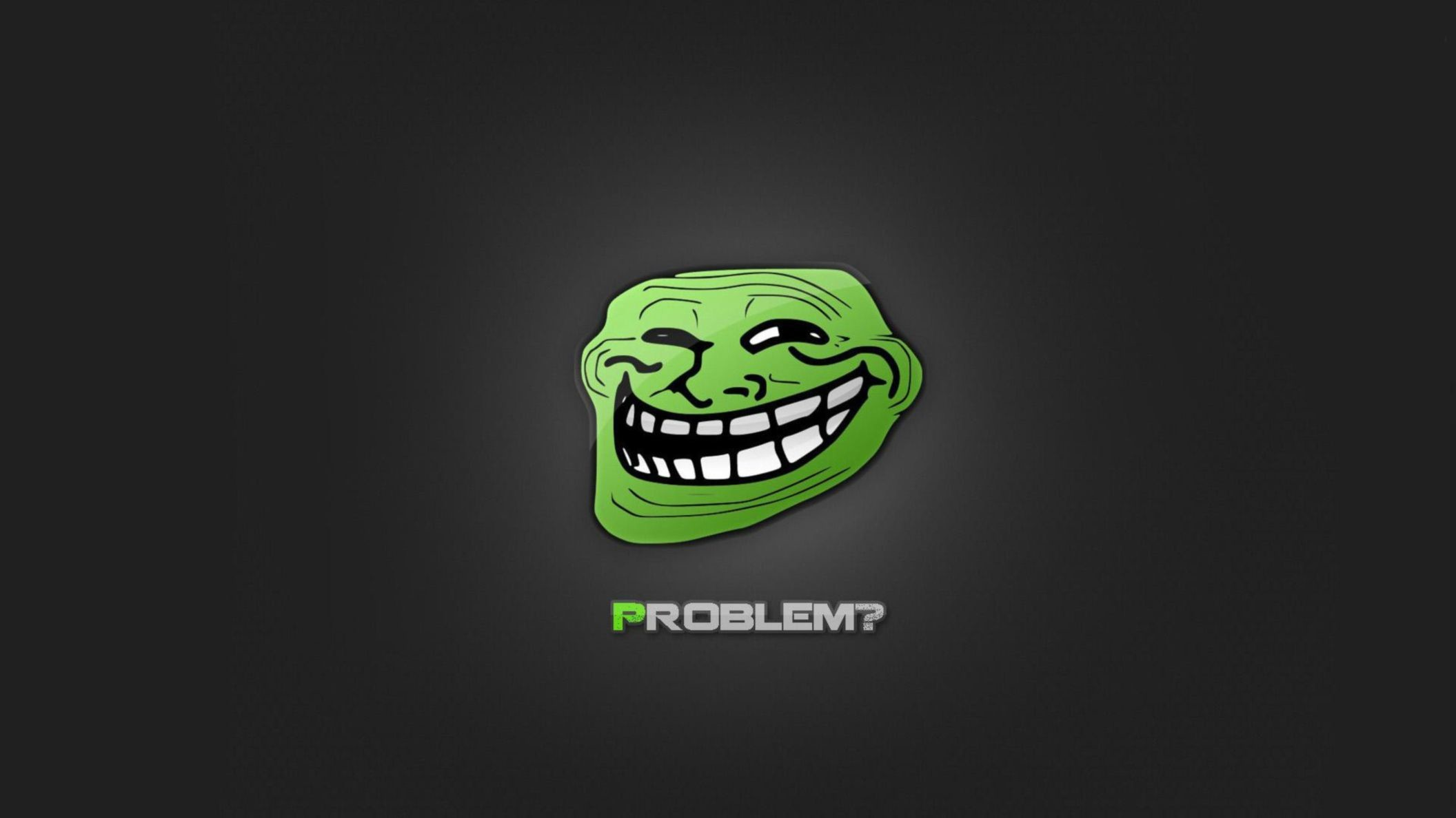 Res: 2112x1188, Funny Meme HD Problem Wallpaper